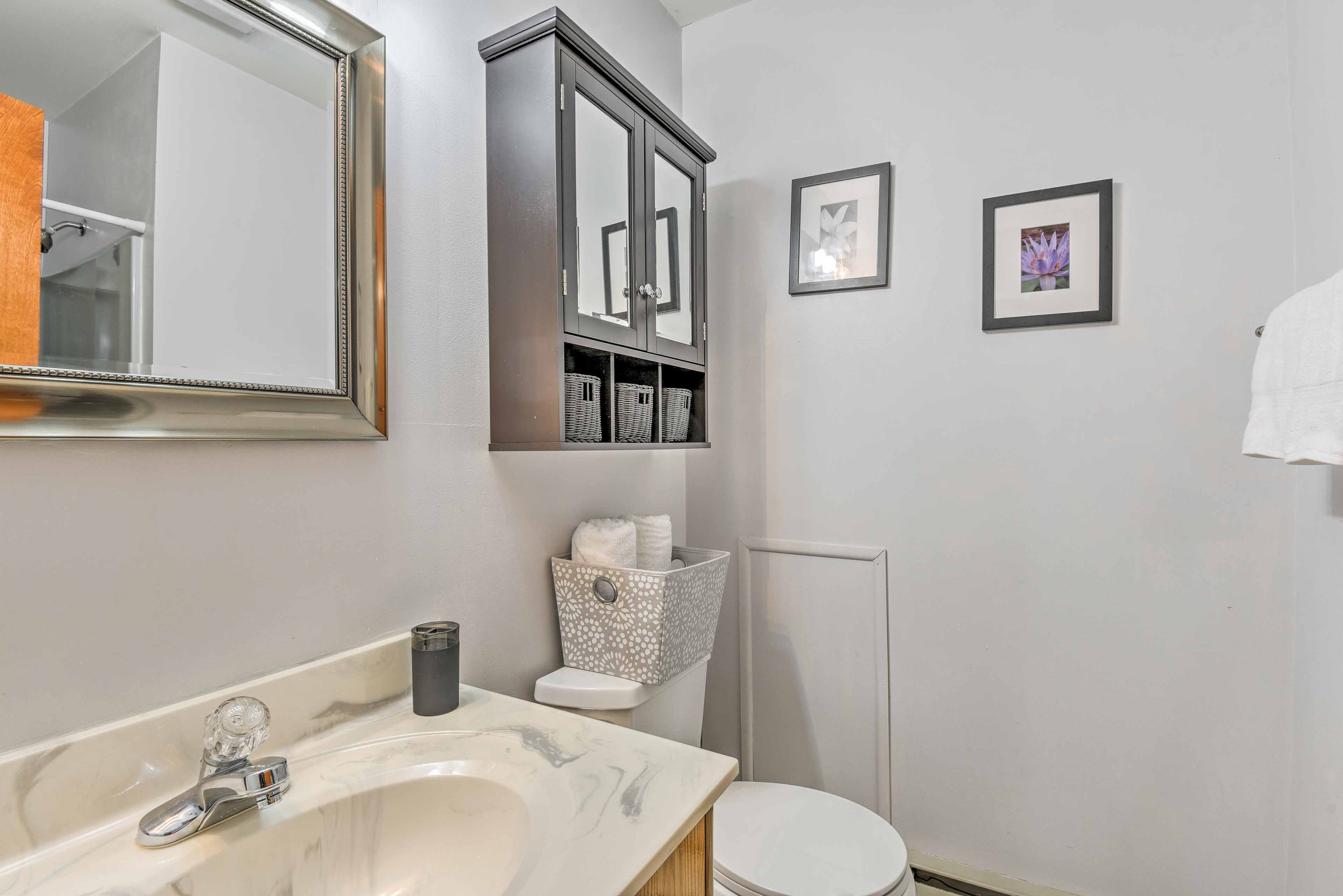 This home includes 2 full bathrooms.