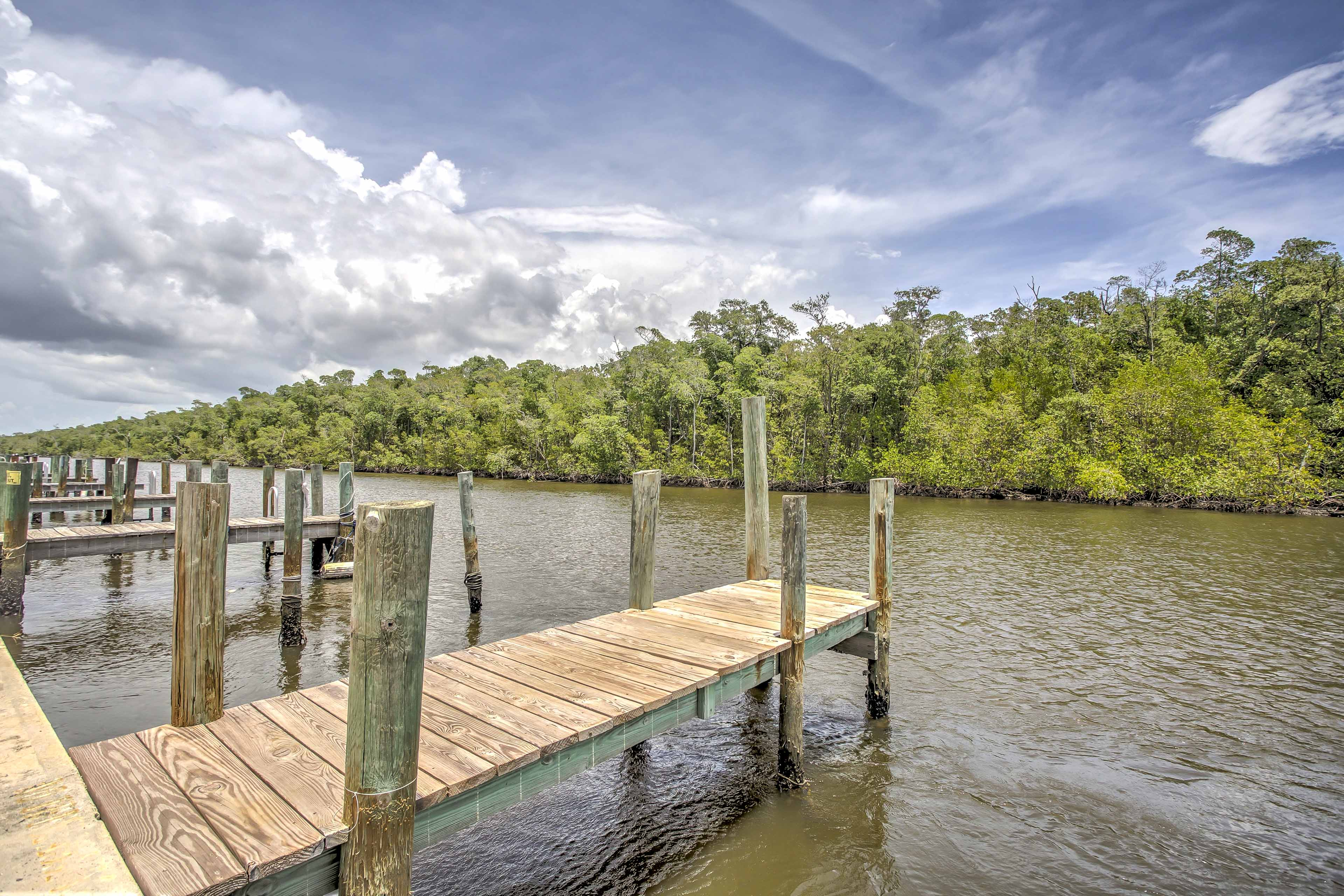 Enjoy access to the community boat slip when you book this unique vacation rental property!