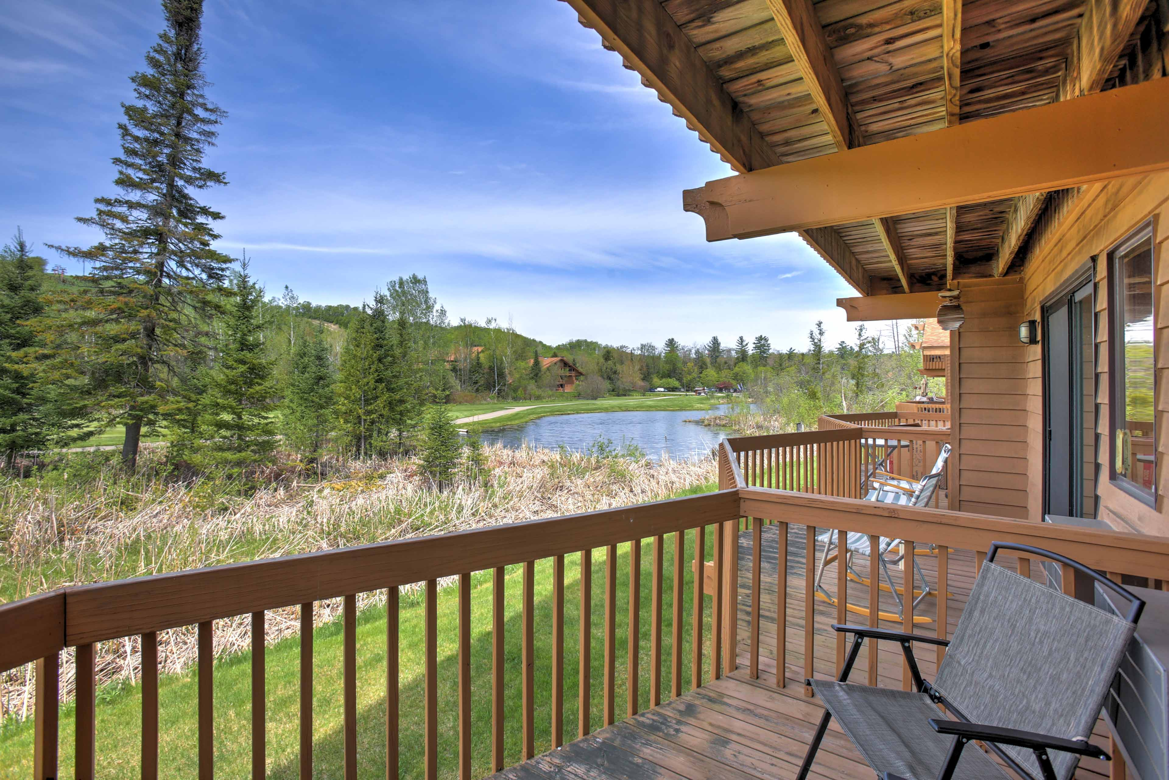 """Experience """"Up North"""" like a local this Mancelona vacation rental condo."""