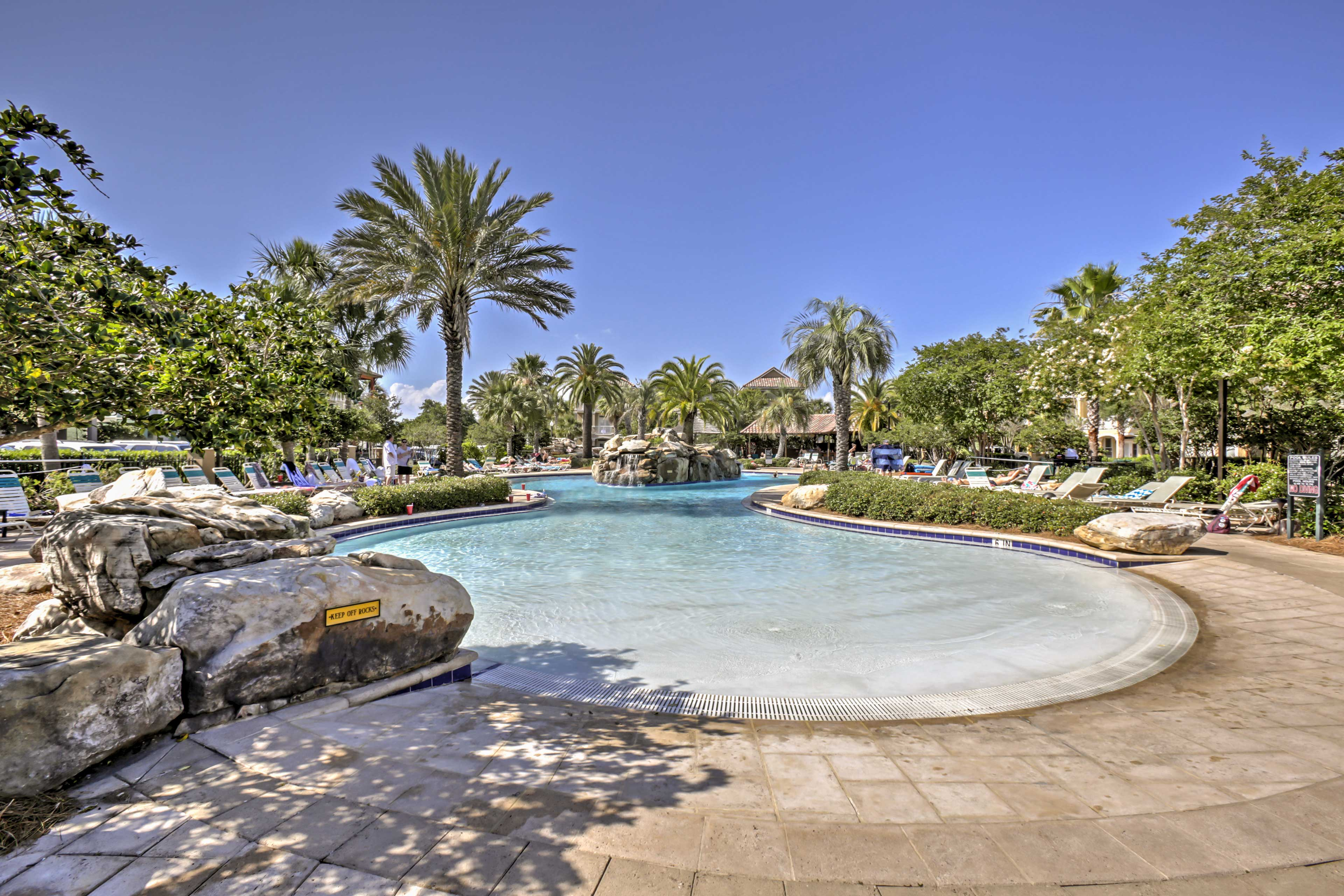 The Villages of Crystal Beach Community offers wonderful amenities.