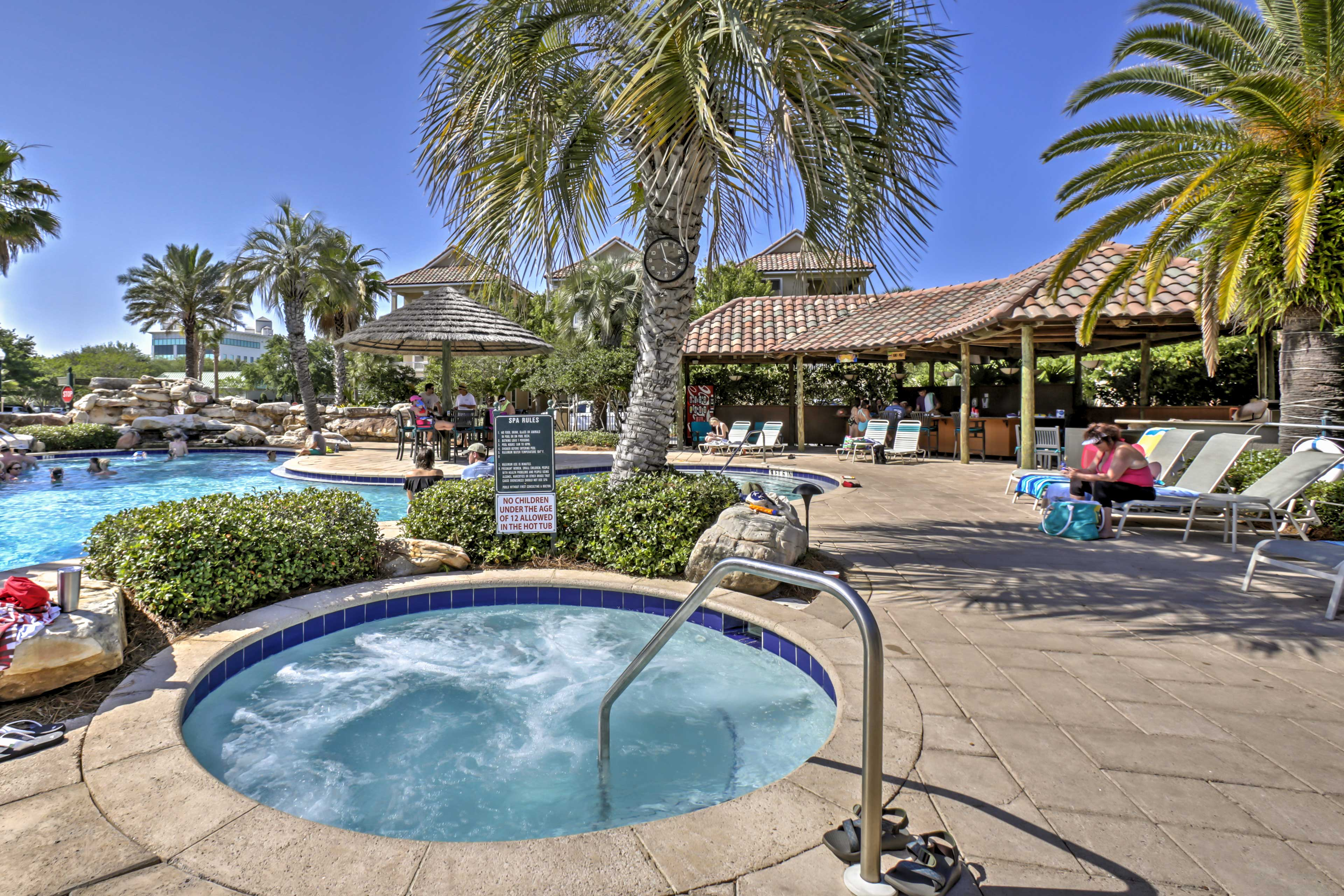 A community pool area across the street adds to the perfection of the home!