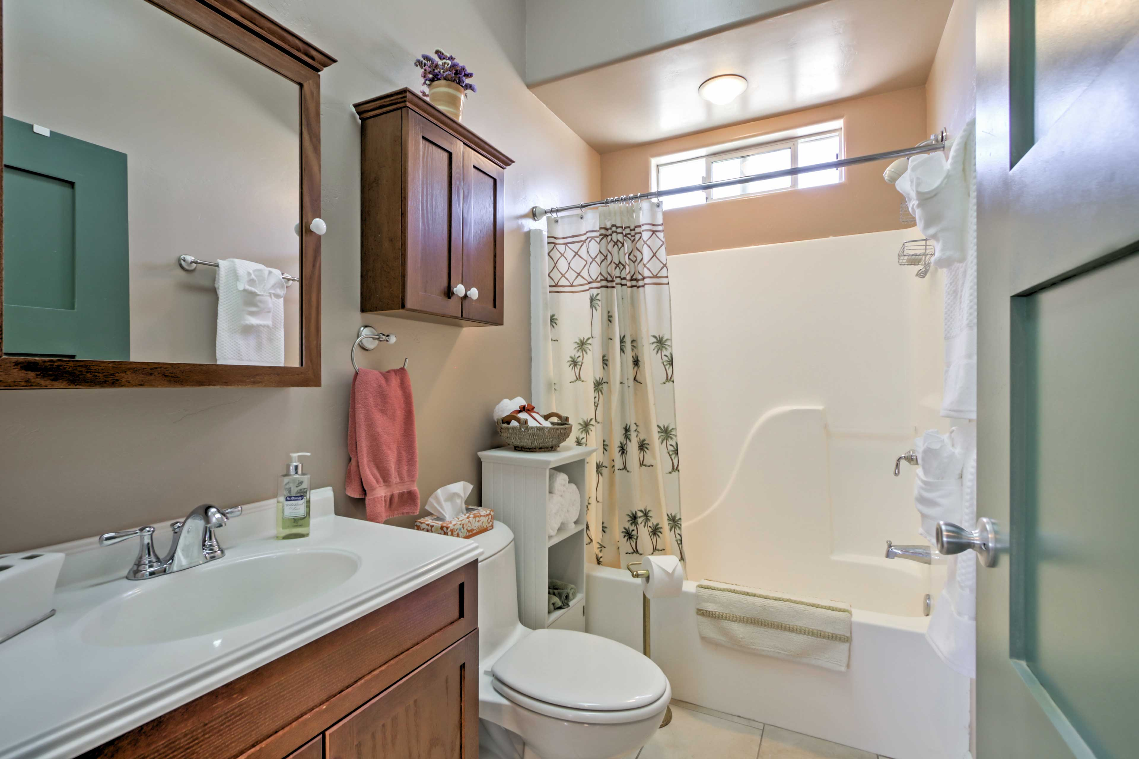 The property contains 1.5 bathrooms total.