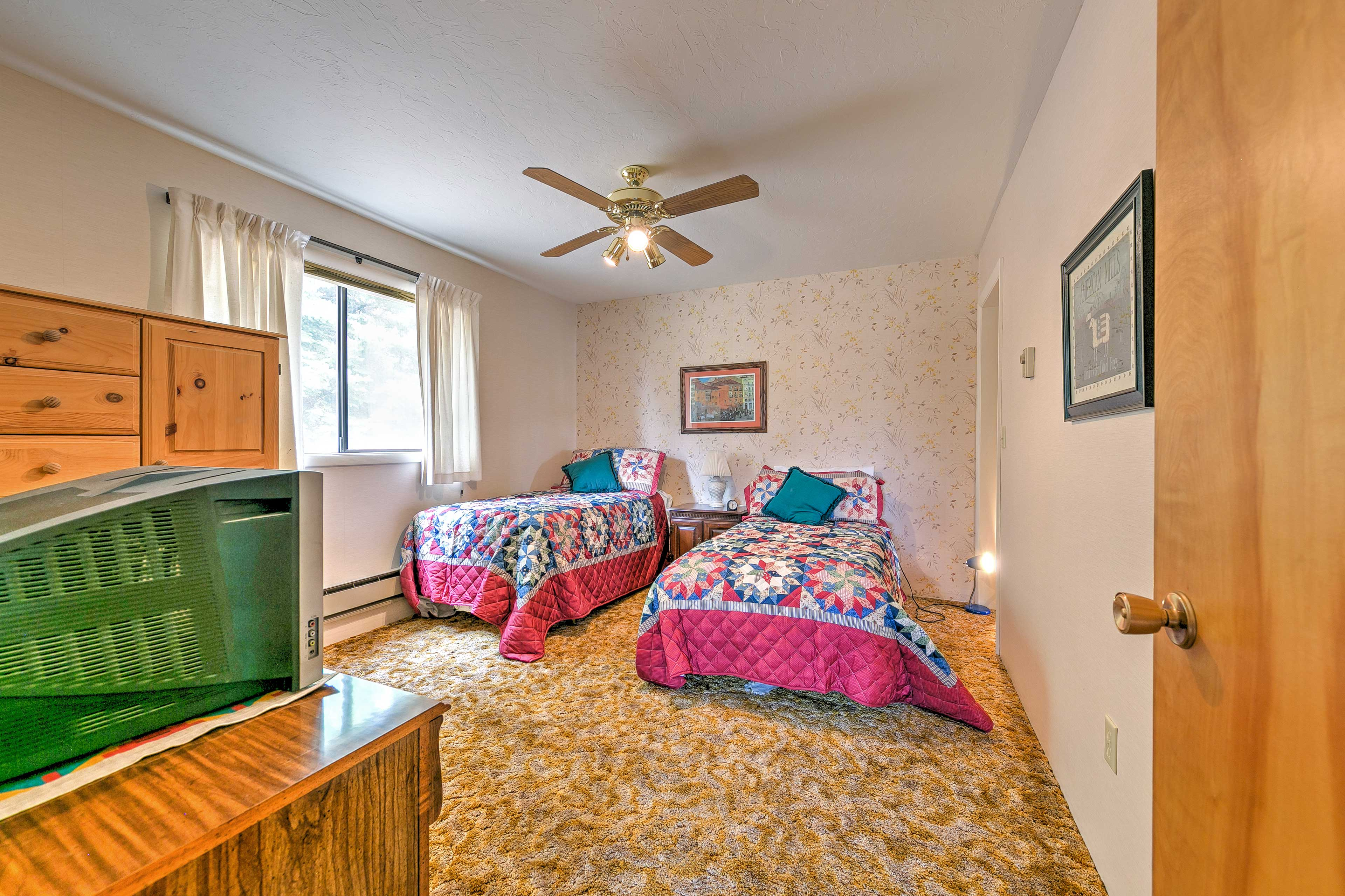The two twin bedrooms are great for kids!