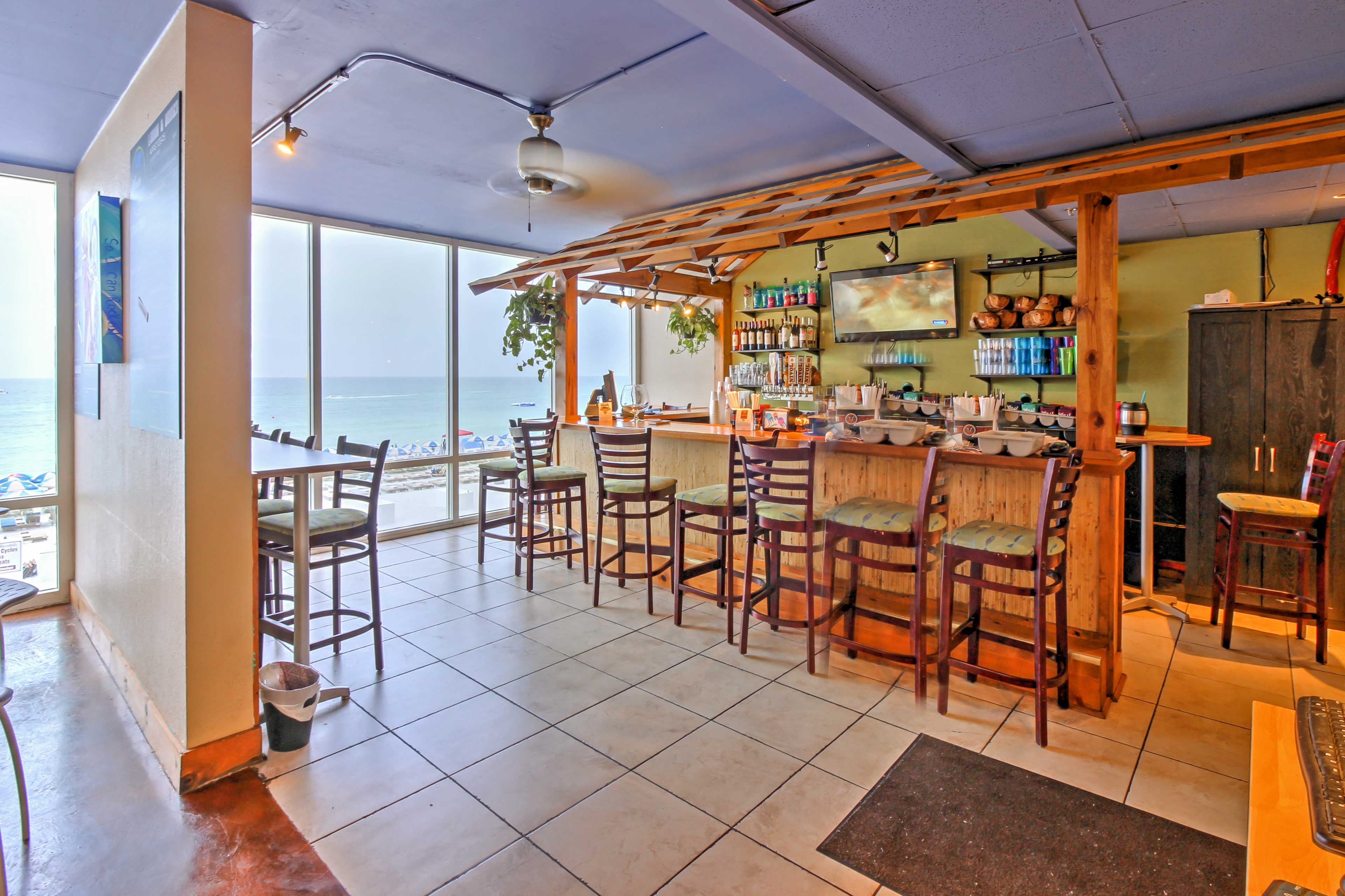 Enjoy your choice of several bars and restaurants at the resort.