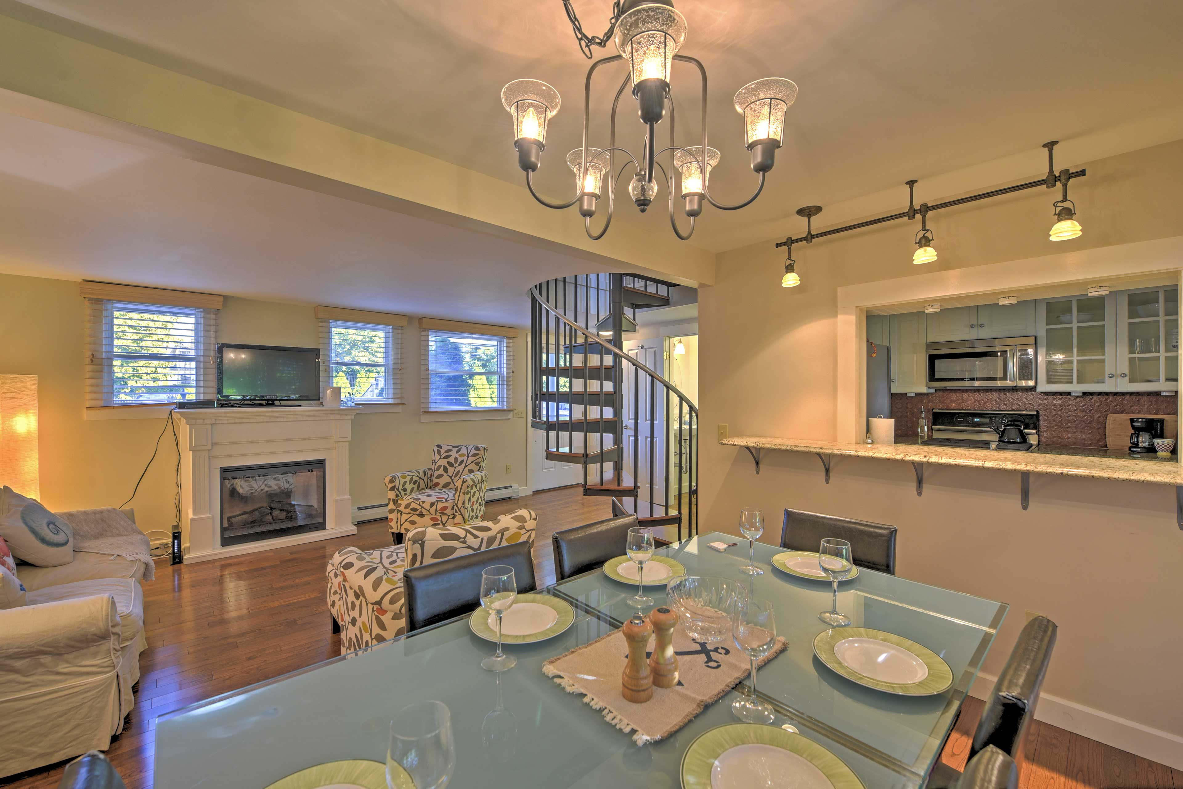 Step inside this beautifully renovated, 2-story condo and make yourself at home.