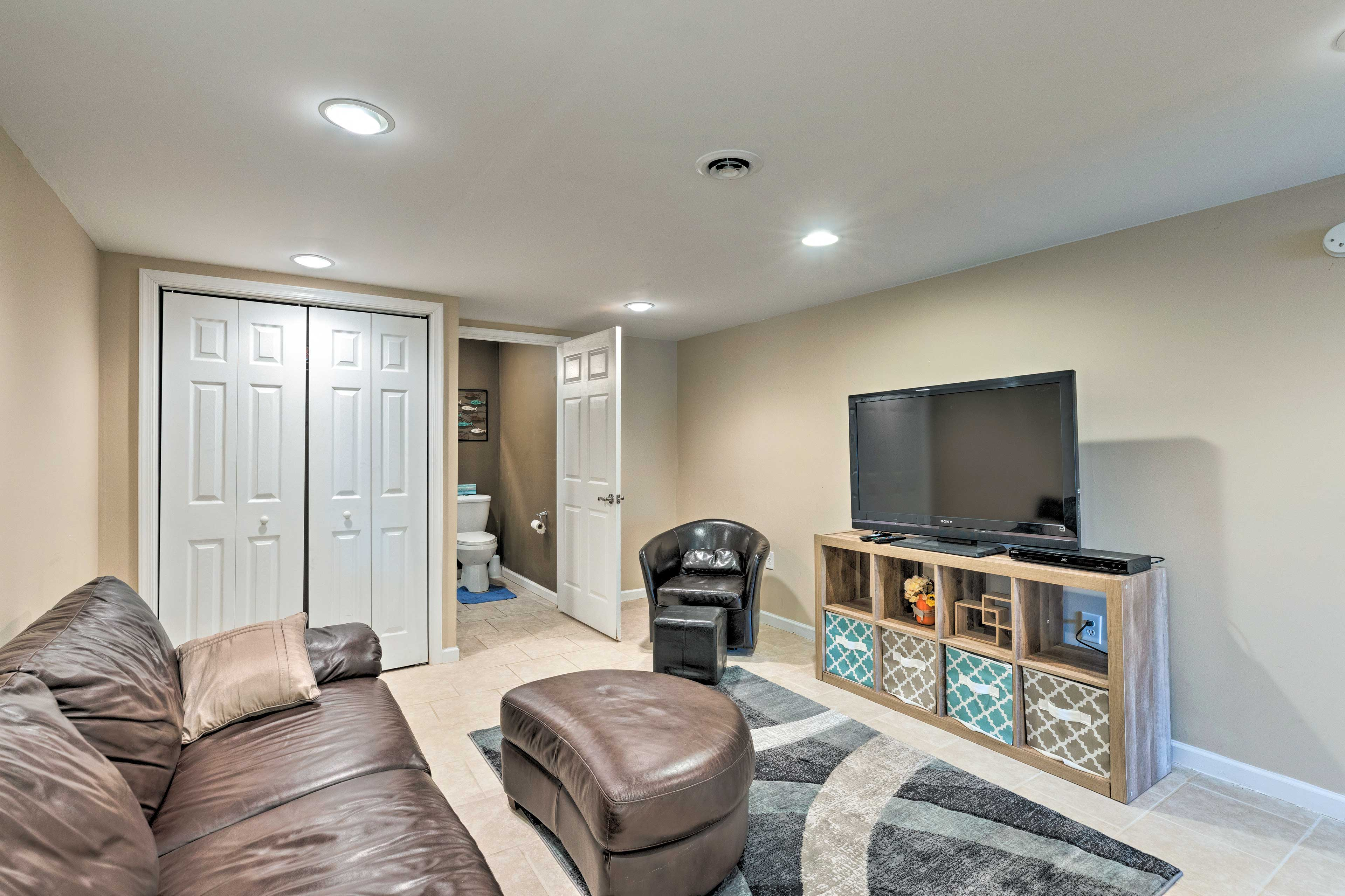 Downstairs Game Room   Xbox Gaming Console