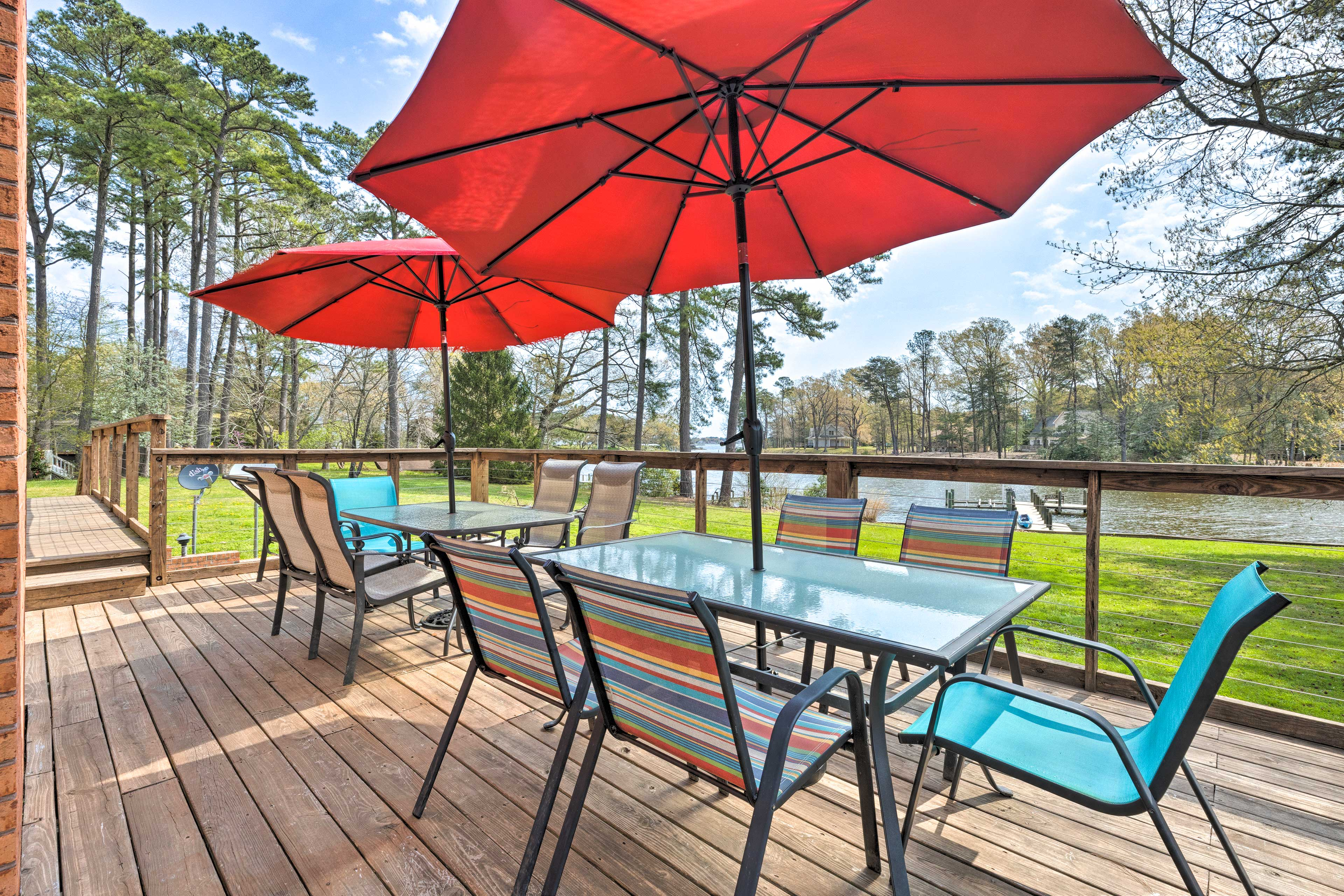 Reedville Vacation Rental Home   5BR   3.5BA   3,800 Sq Ft   No Steps Required