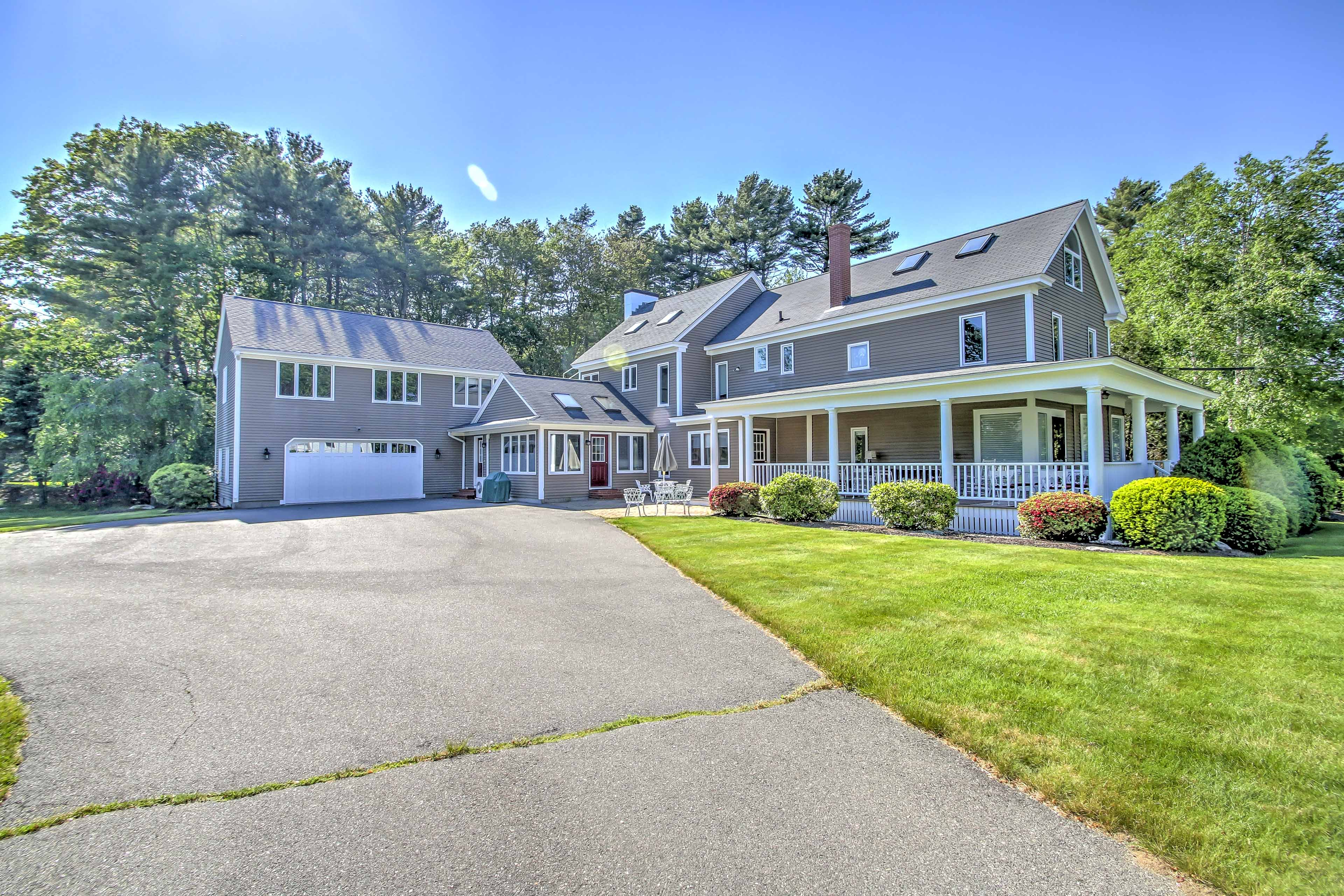 Gather your family and friends and head to this Kennebunk vacation rental house!