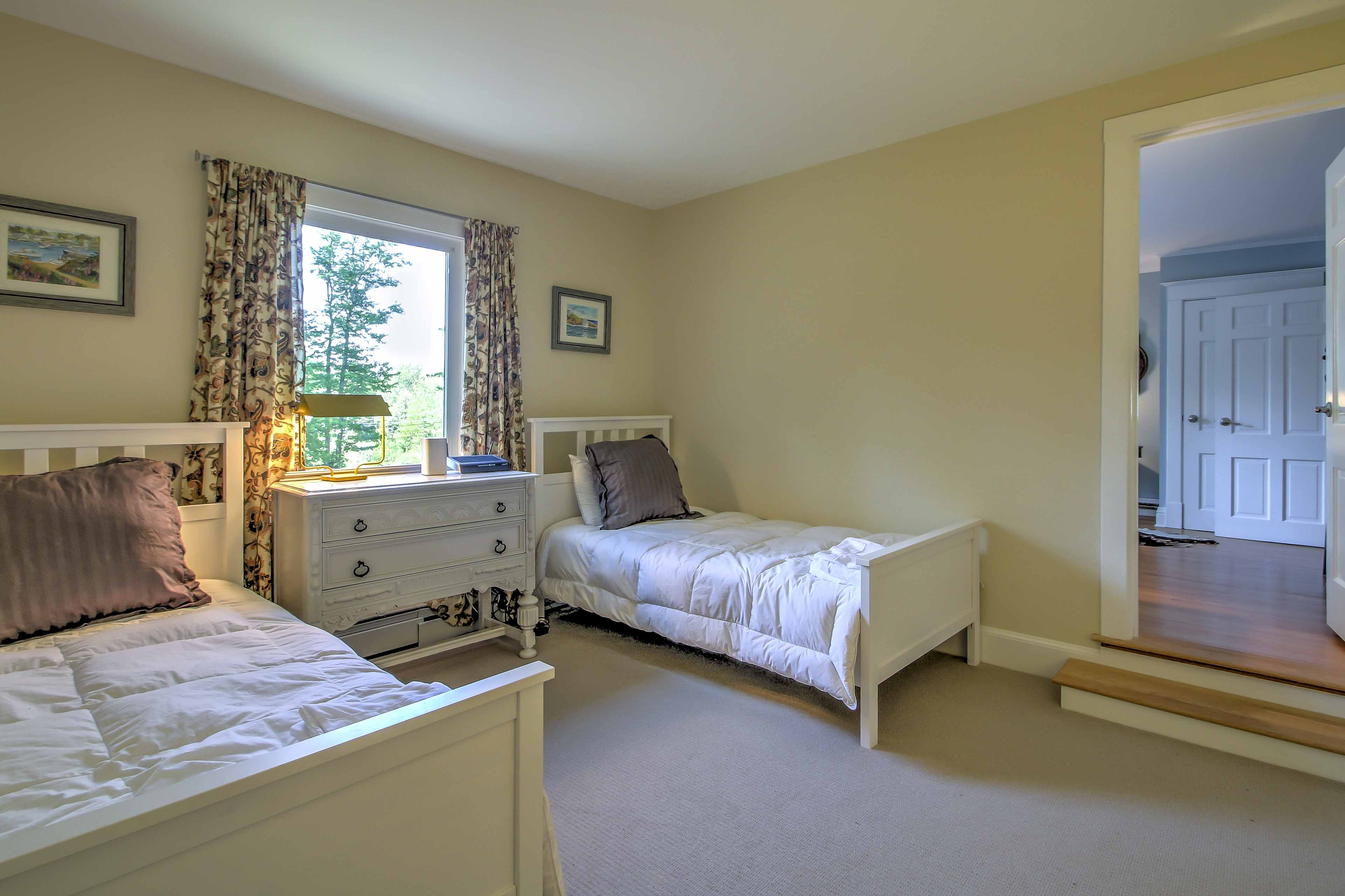 Siblings or friends will love sharing this room with 2 twin beds.
