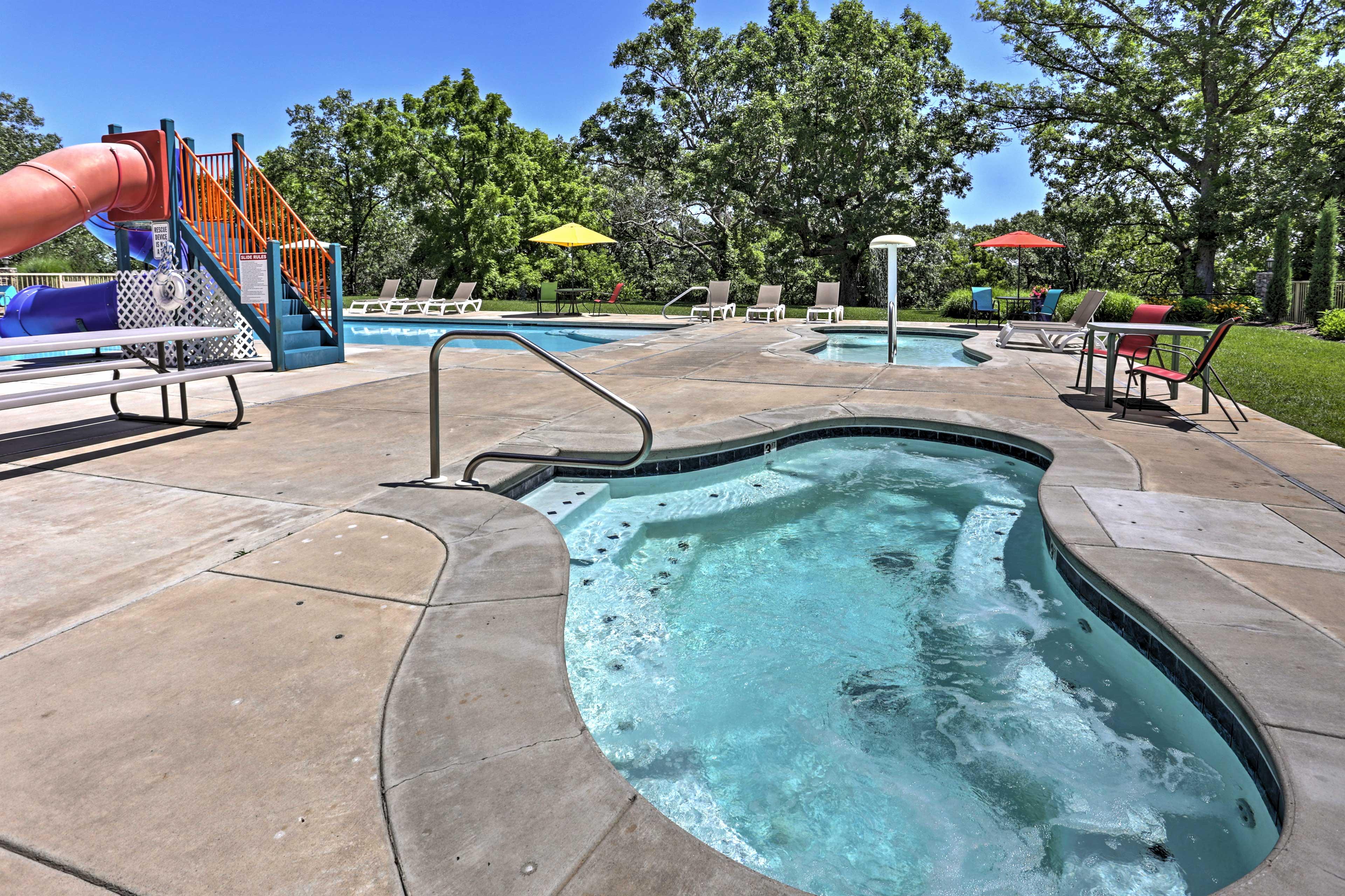 Community Amenities | Seasonal Pool & Hot Tub