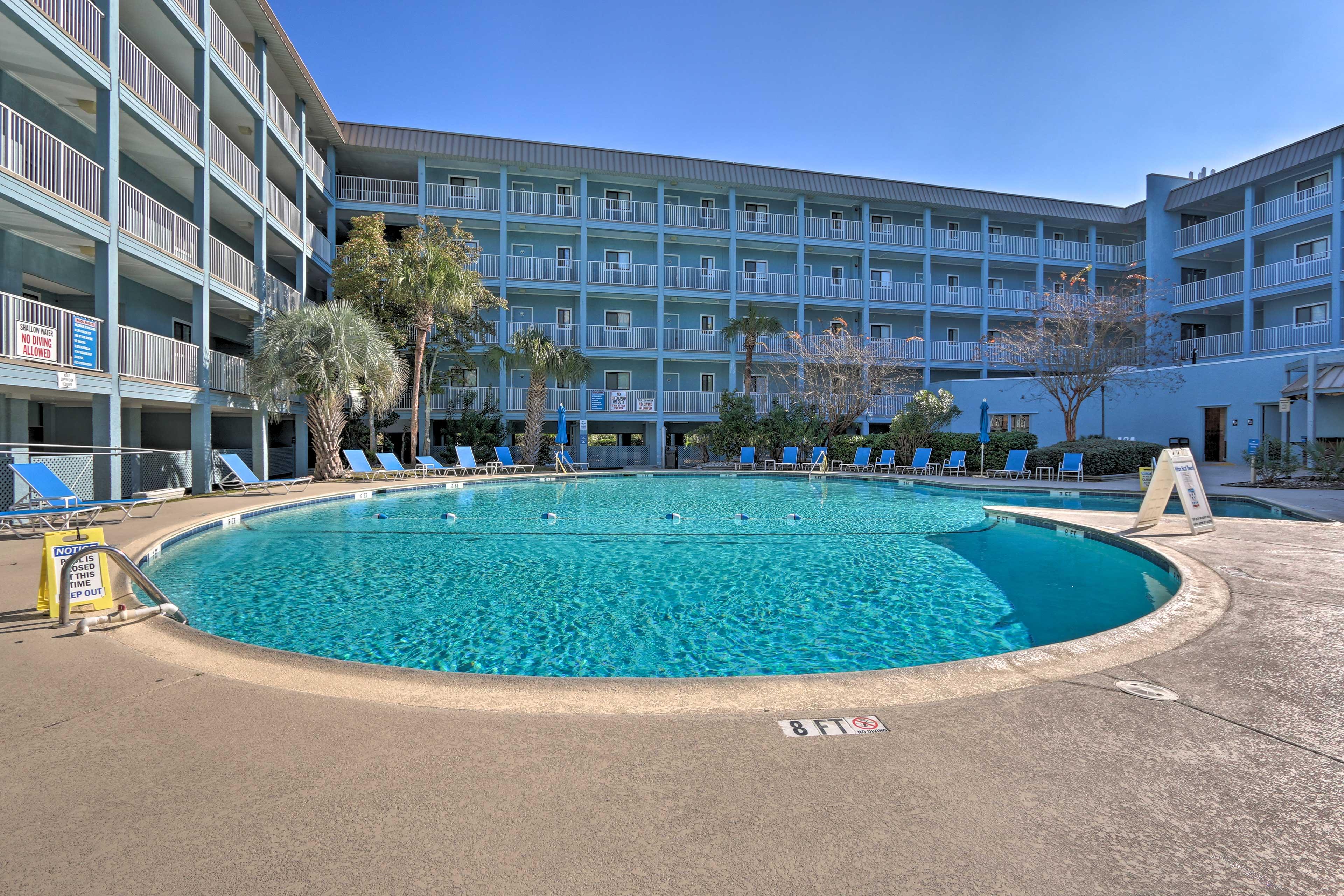 Enjoy fantastic community amenities at this Hilton Head Island vacation rental.