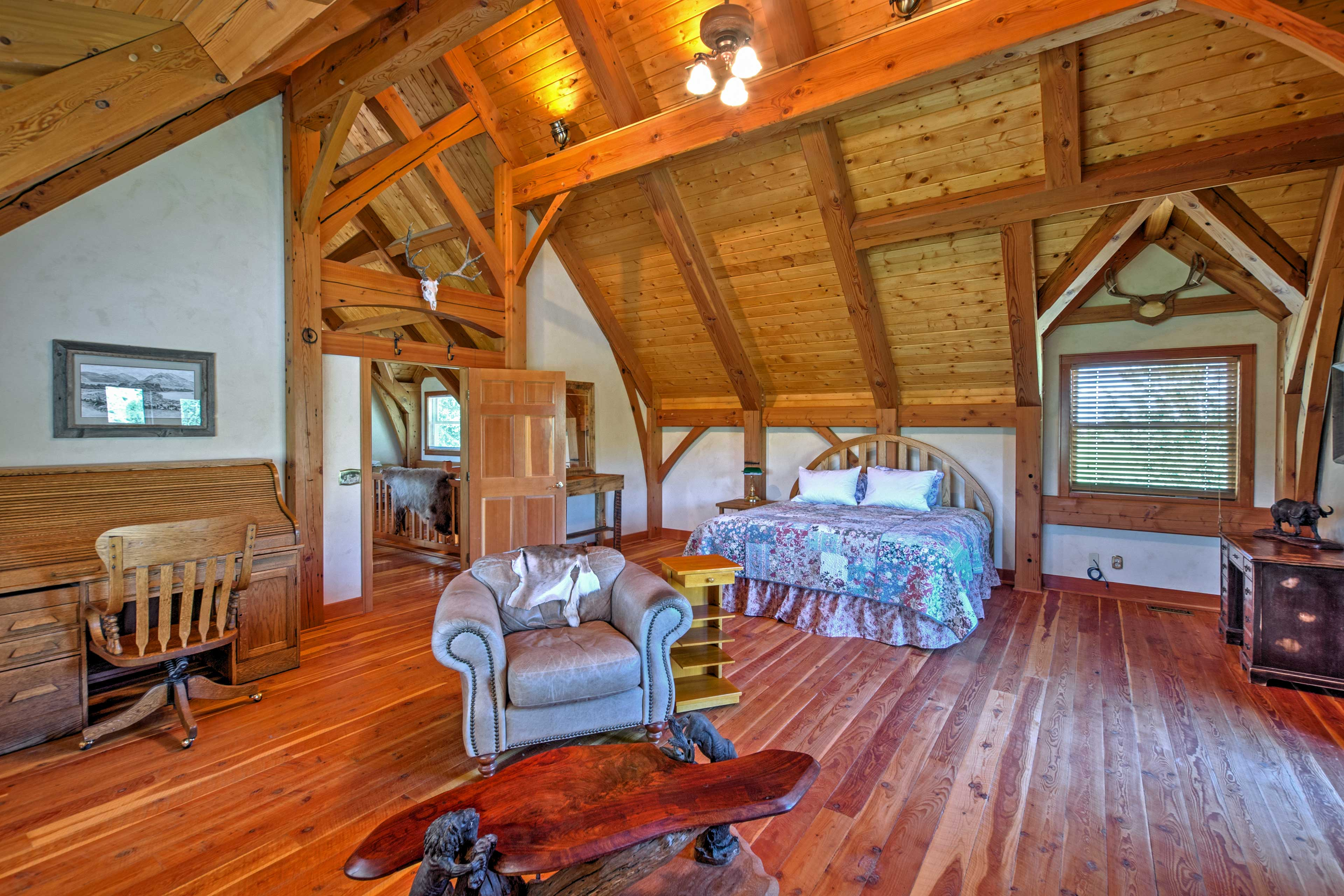 Those sharing this room will enjoy a king bed and access to a private balcony.