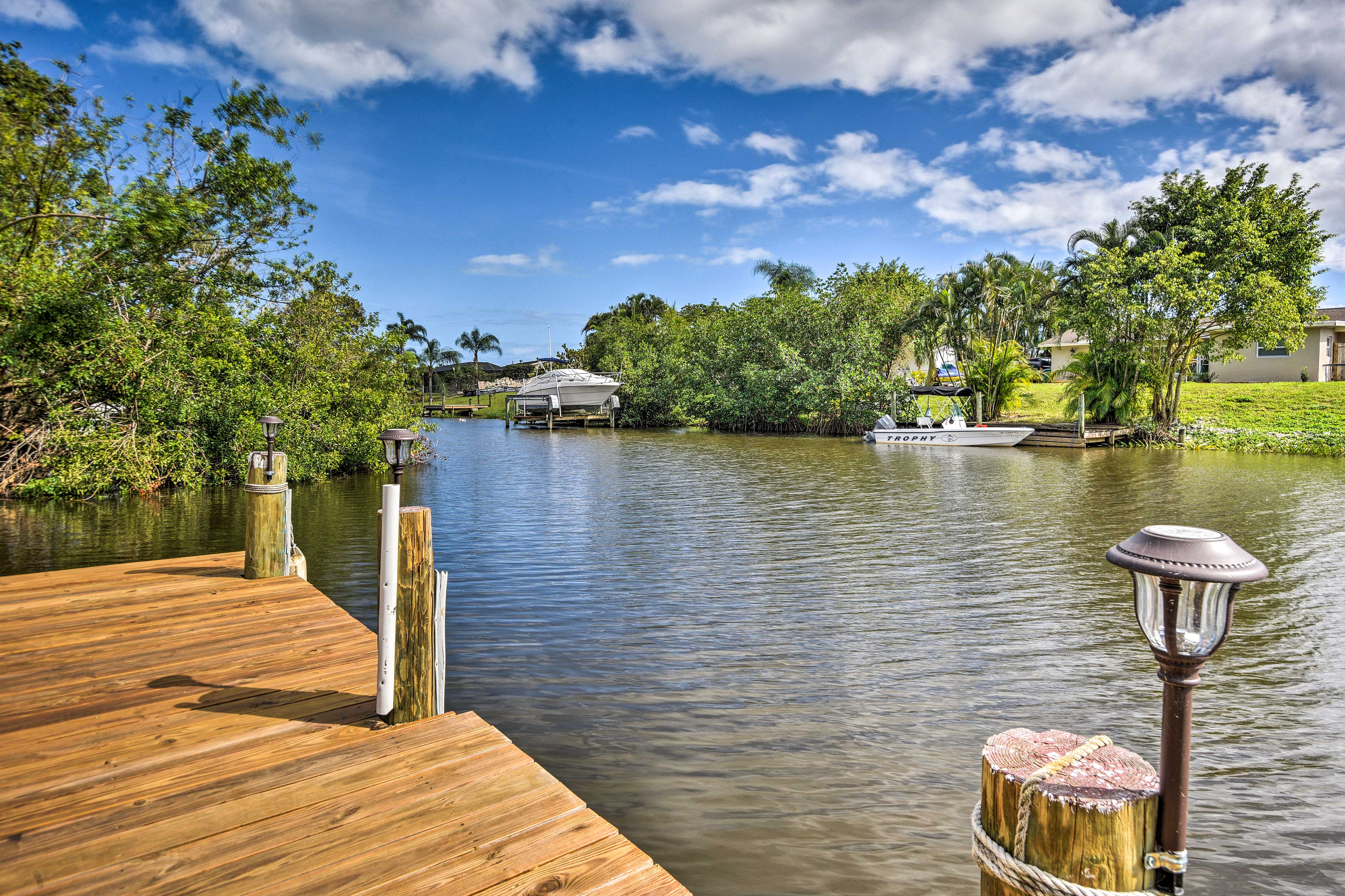 Get ready to spend hours on this dock!