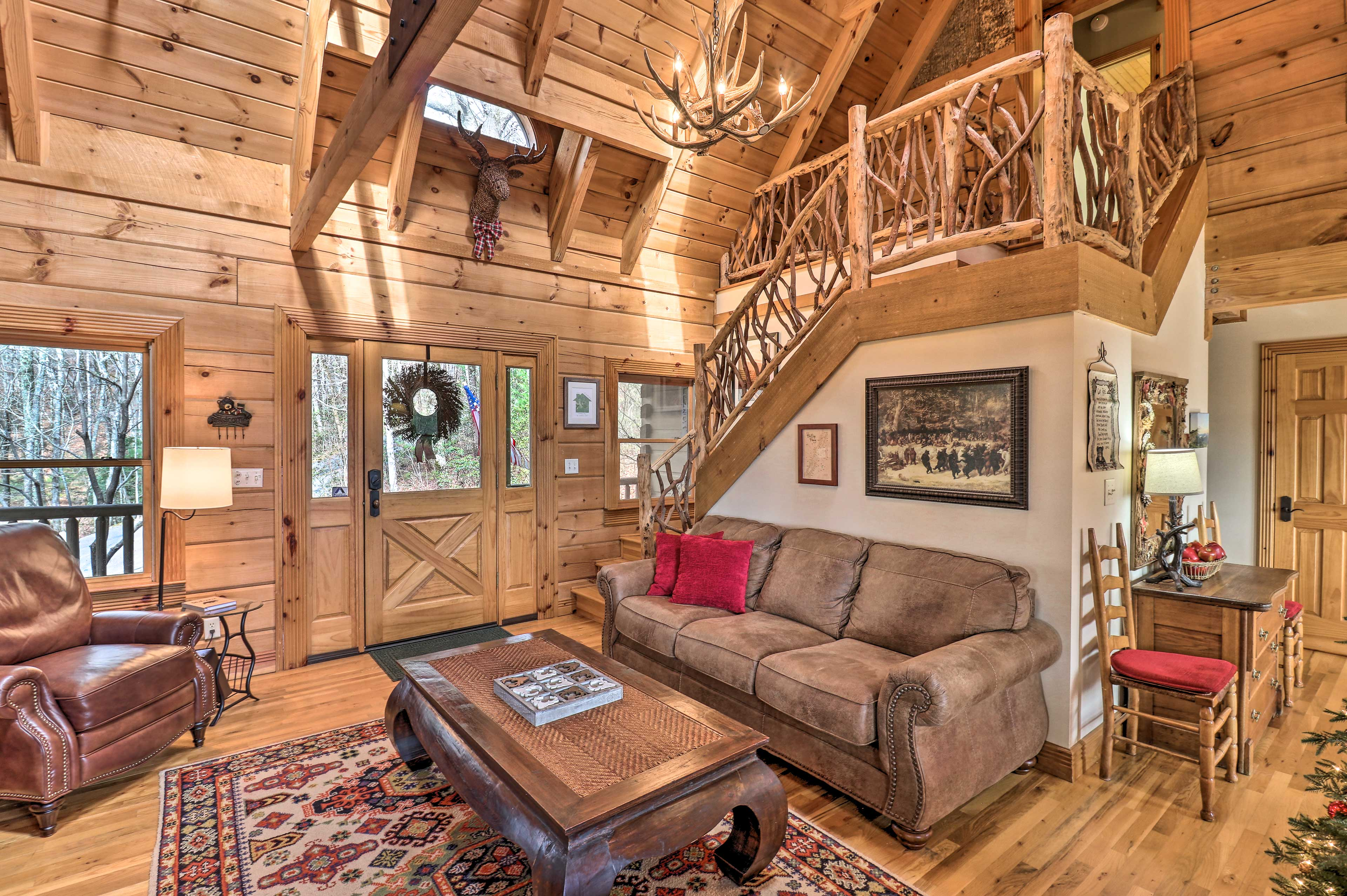 Living Room | Front Entrance