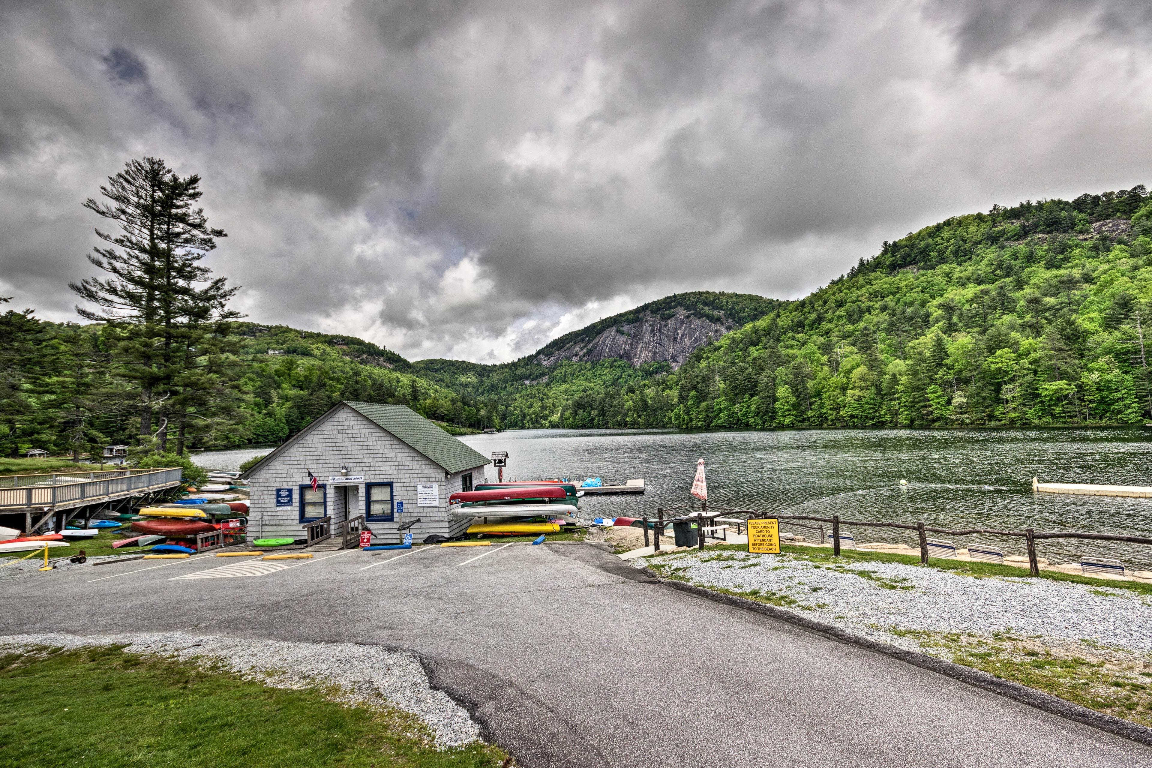Resort Amenities (w/ Additional Fee) | On-Site Lake