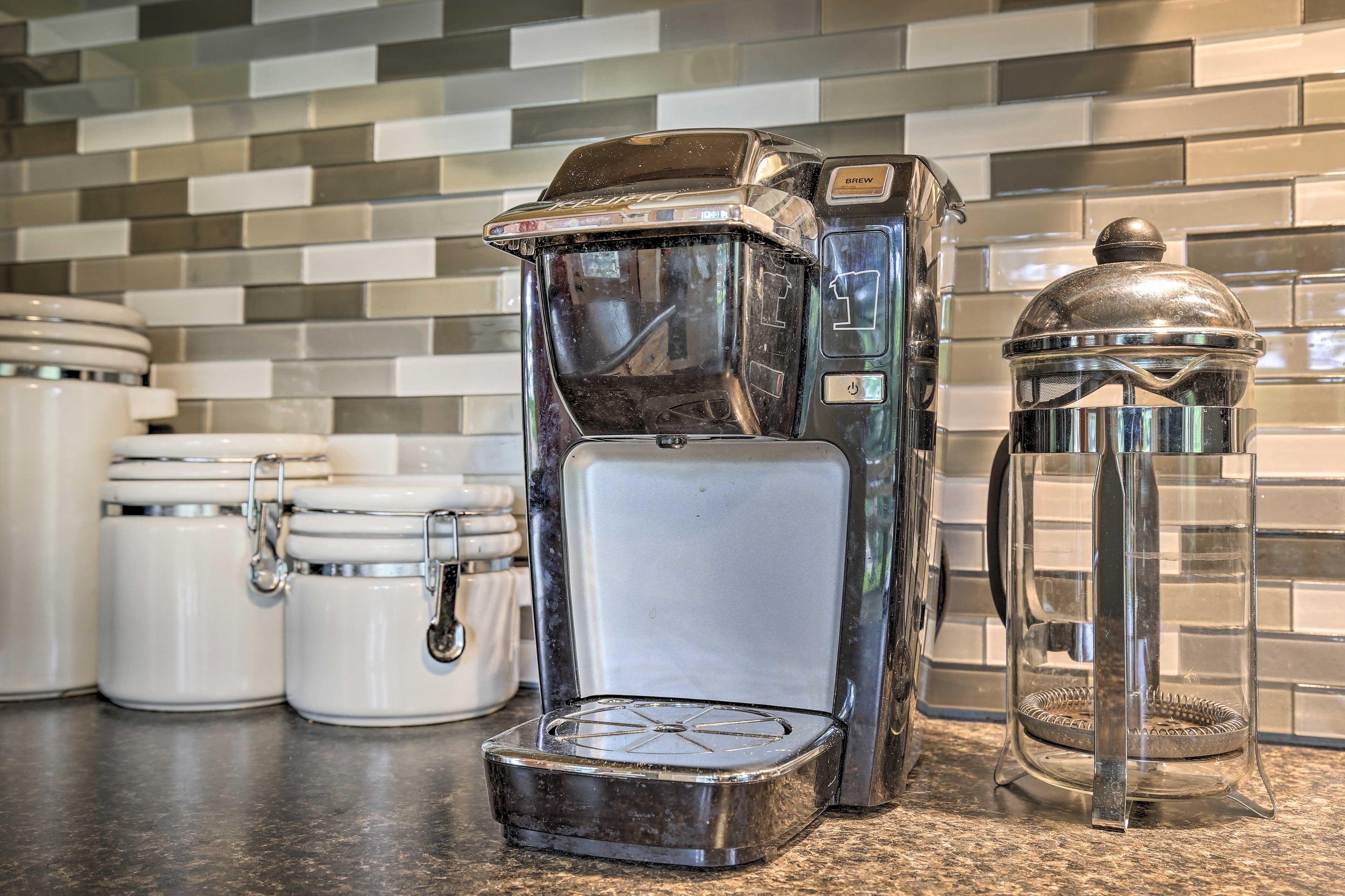 Kitchen | Keurig Coffee Maker | French Press