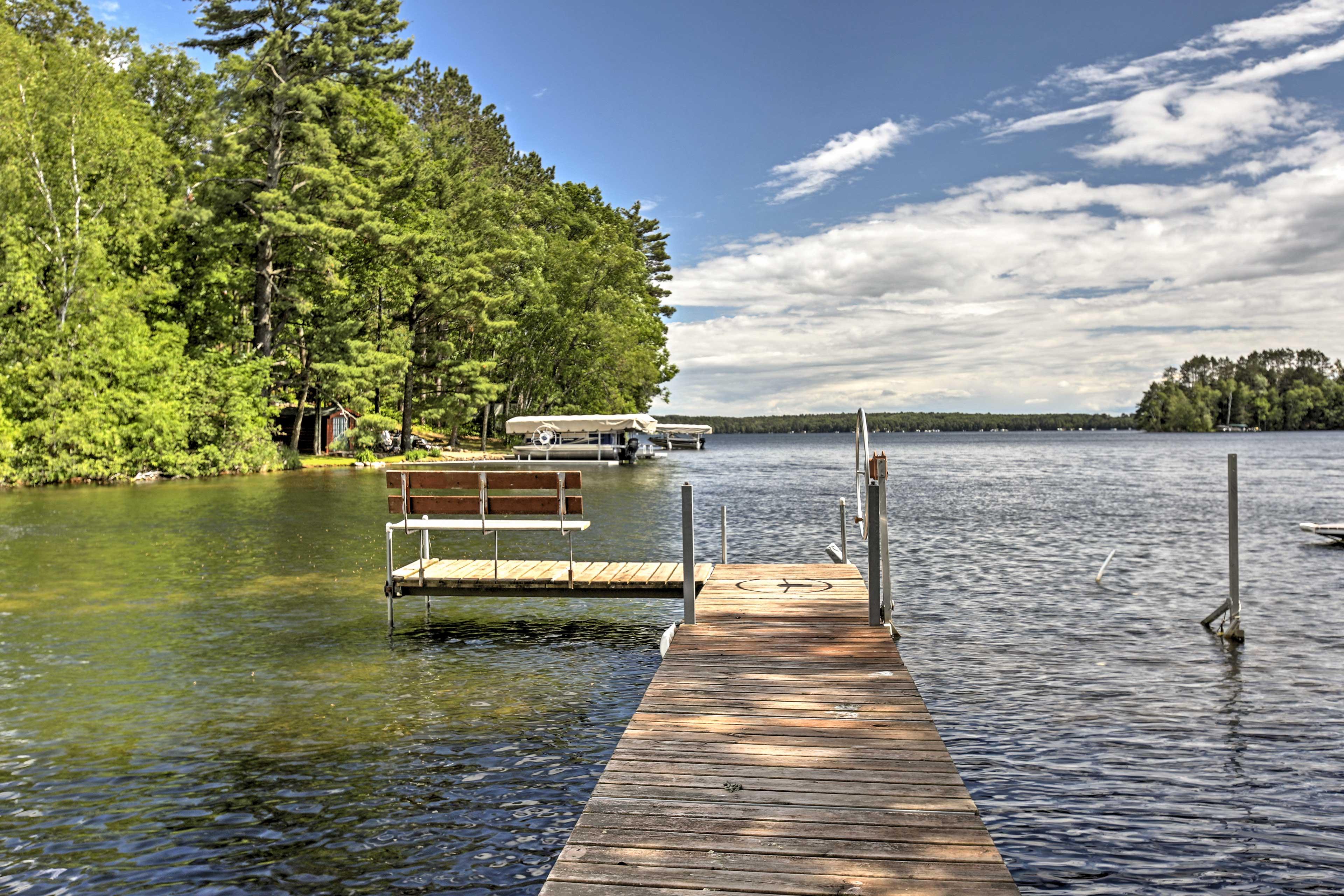 Hayward Vacation Rental Cabin | 3BR | 1BA | 900 Sq Ft