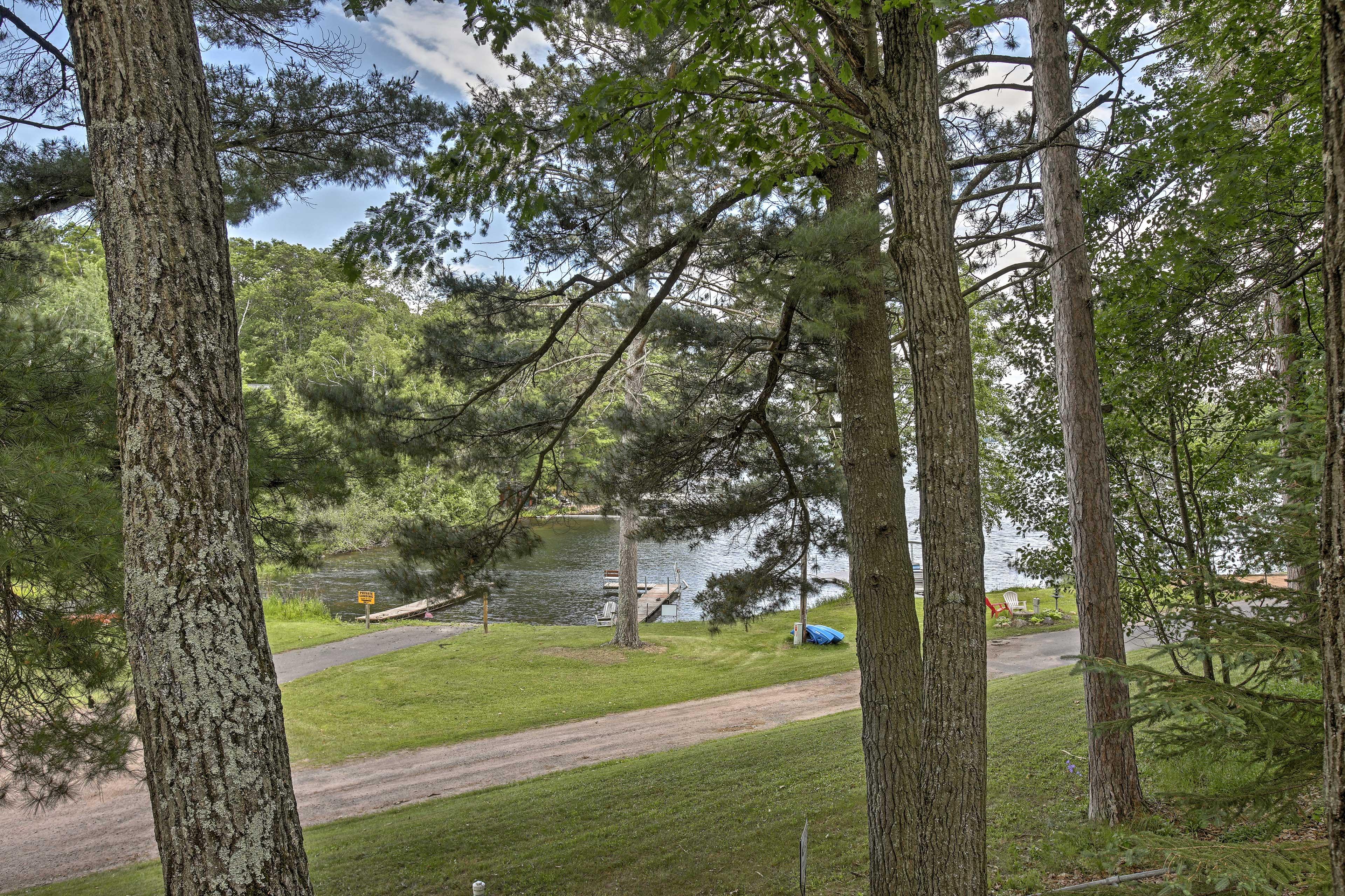 Resort Grounds | Lake Access