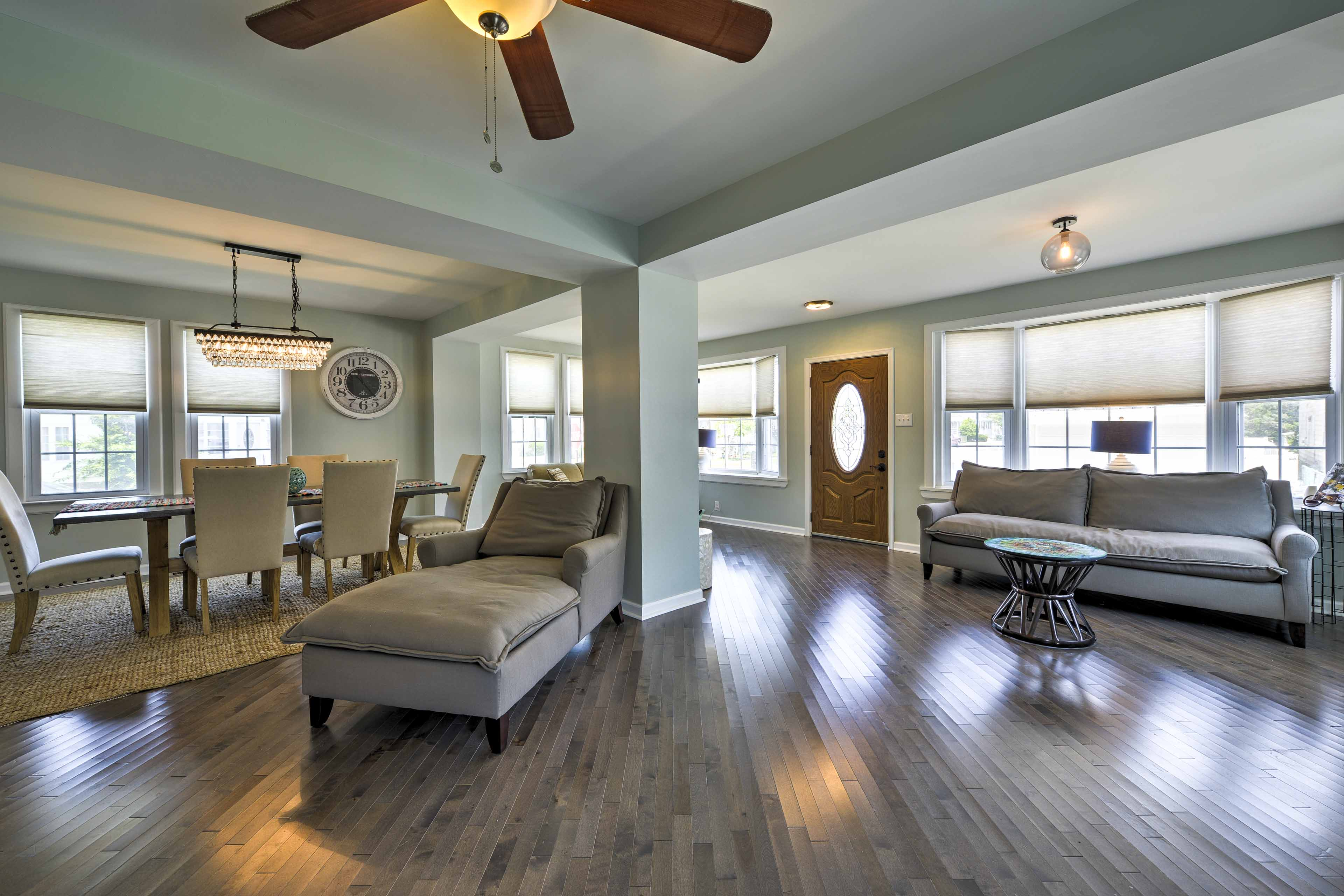 The main living area offers a great open layout