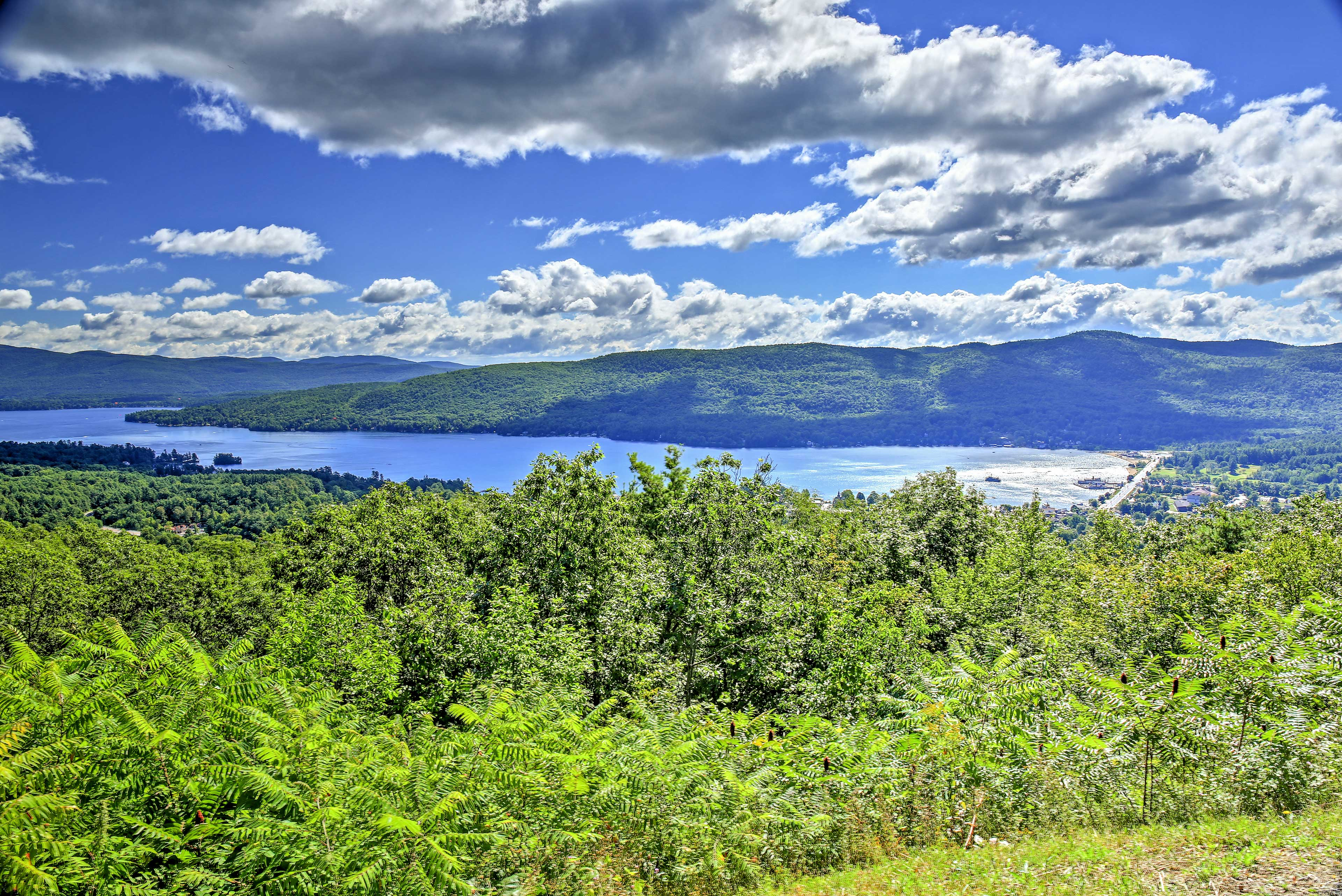 Explore the beautiful nearby lakes for your next Upstate New York retreat.