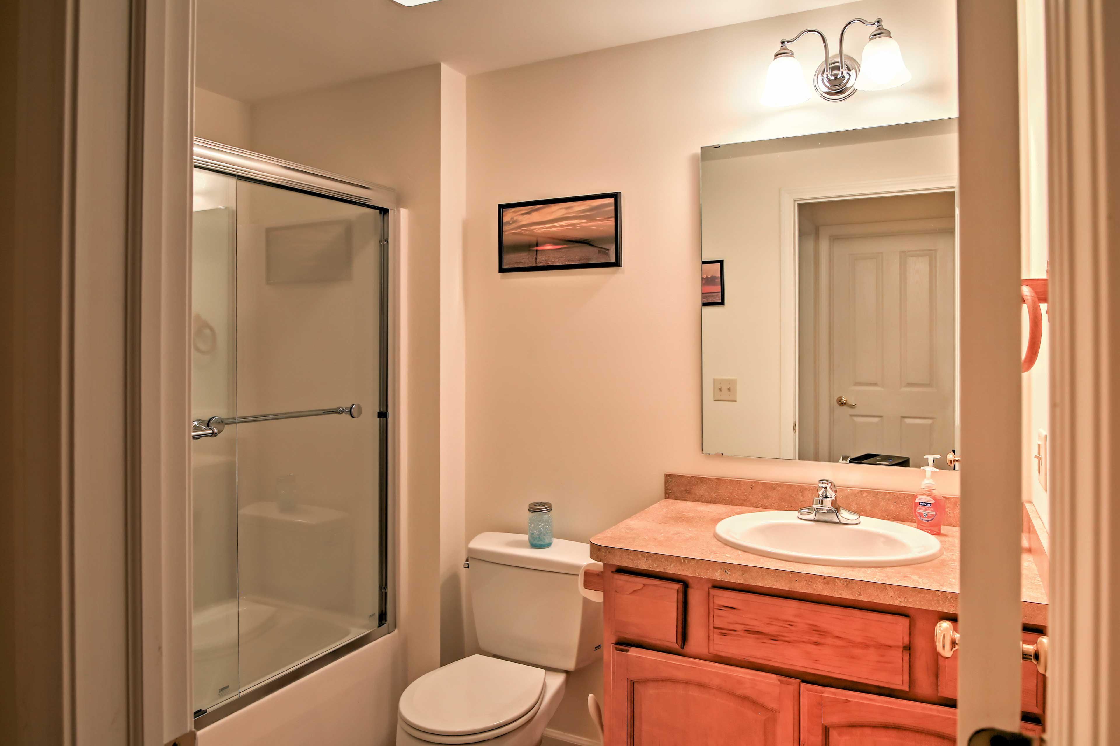 The home includes 3.5 bathrooms.