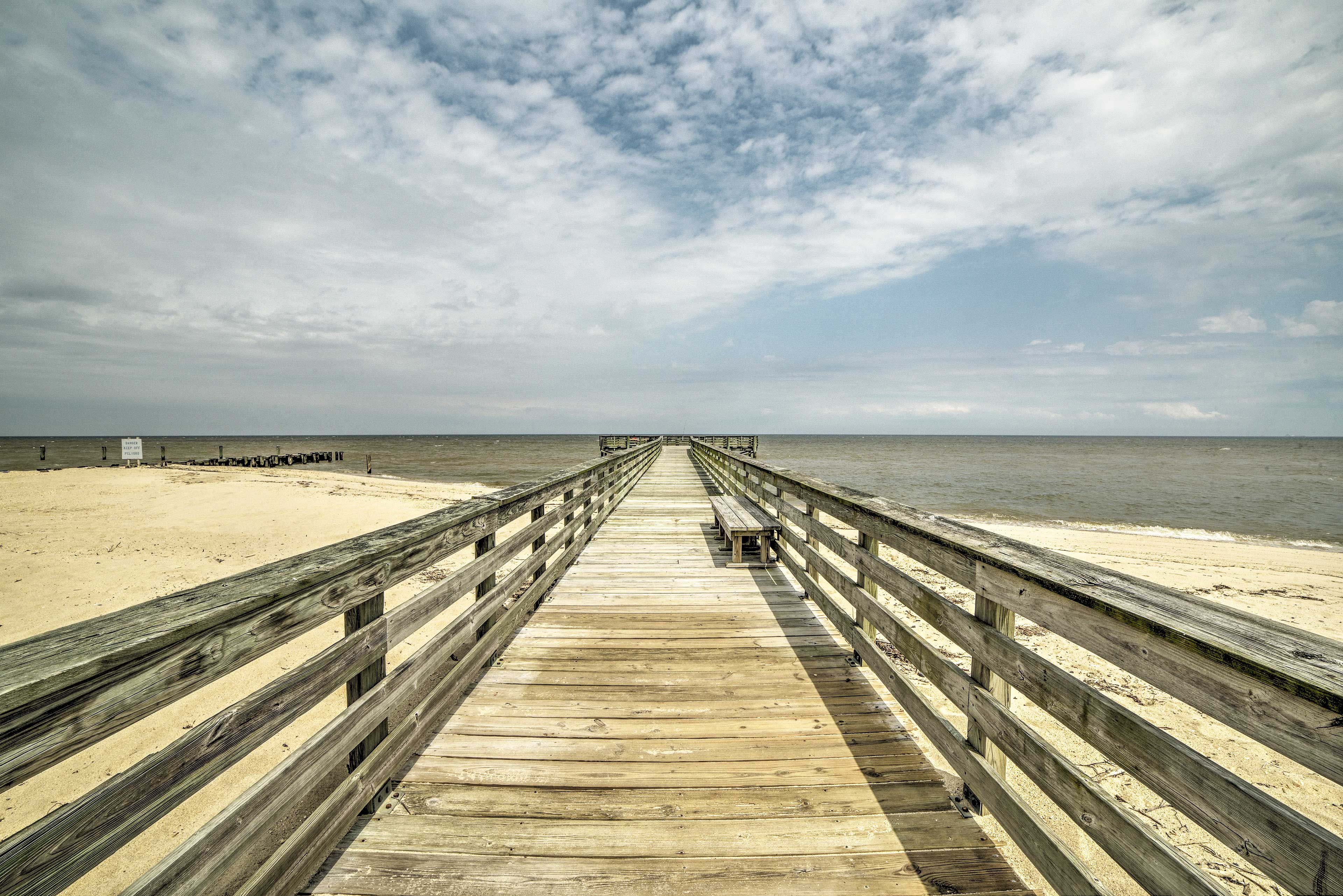 This 1-bedroom, 1-bathroom unit is just steps from the shore!