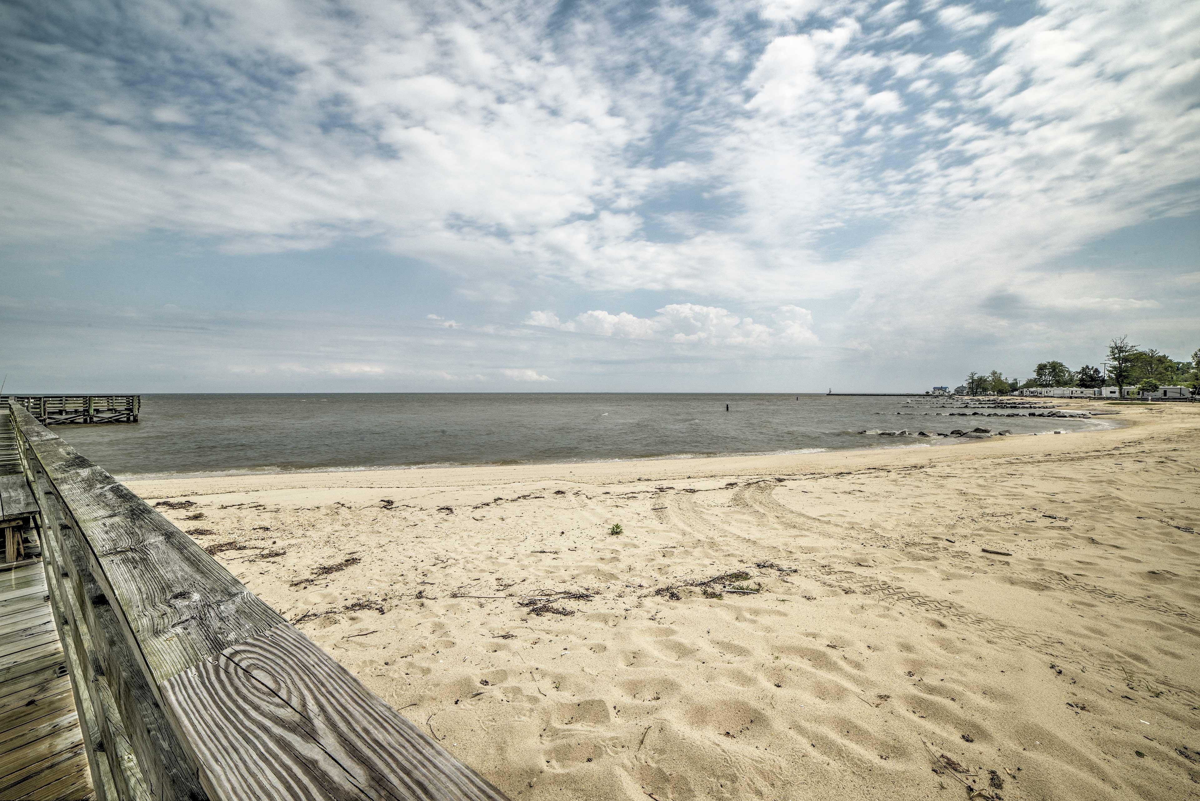 Head down to the beach!