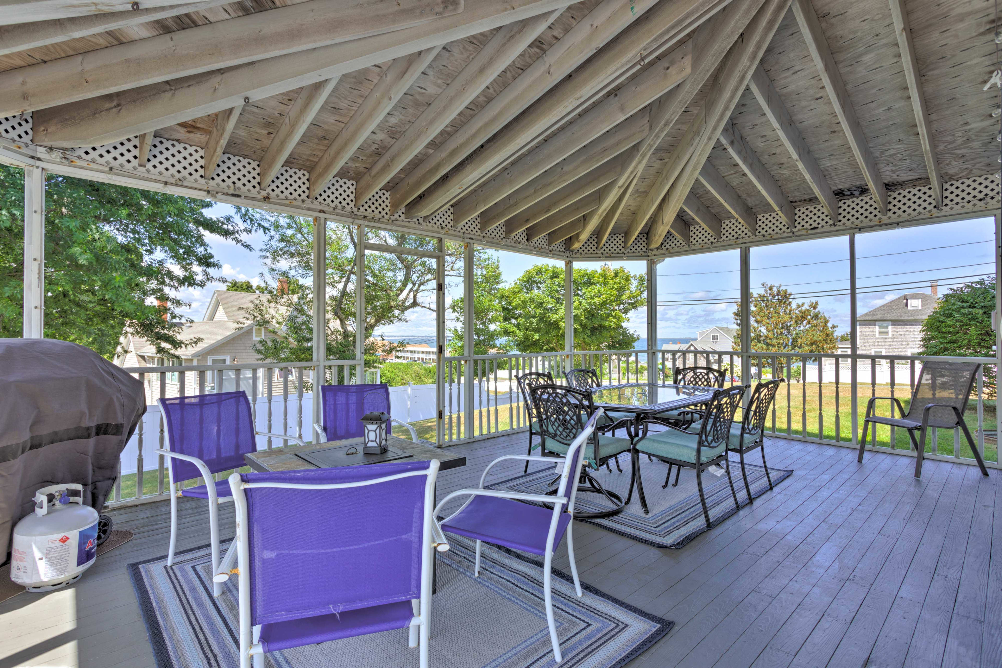 Your quintessential New England escape begins with this 6-bed vacation rental!