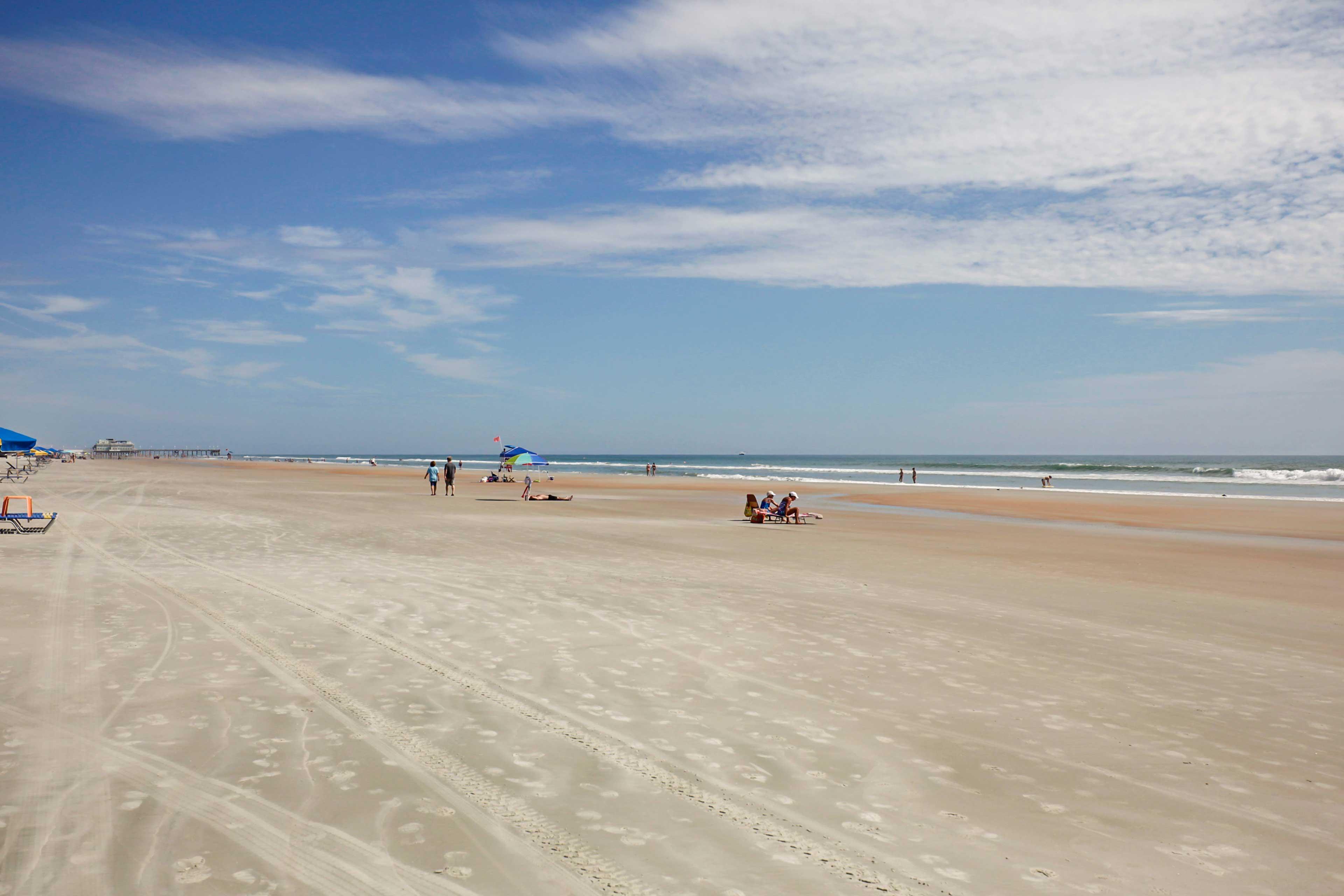 Direct Daytona Beach Access