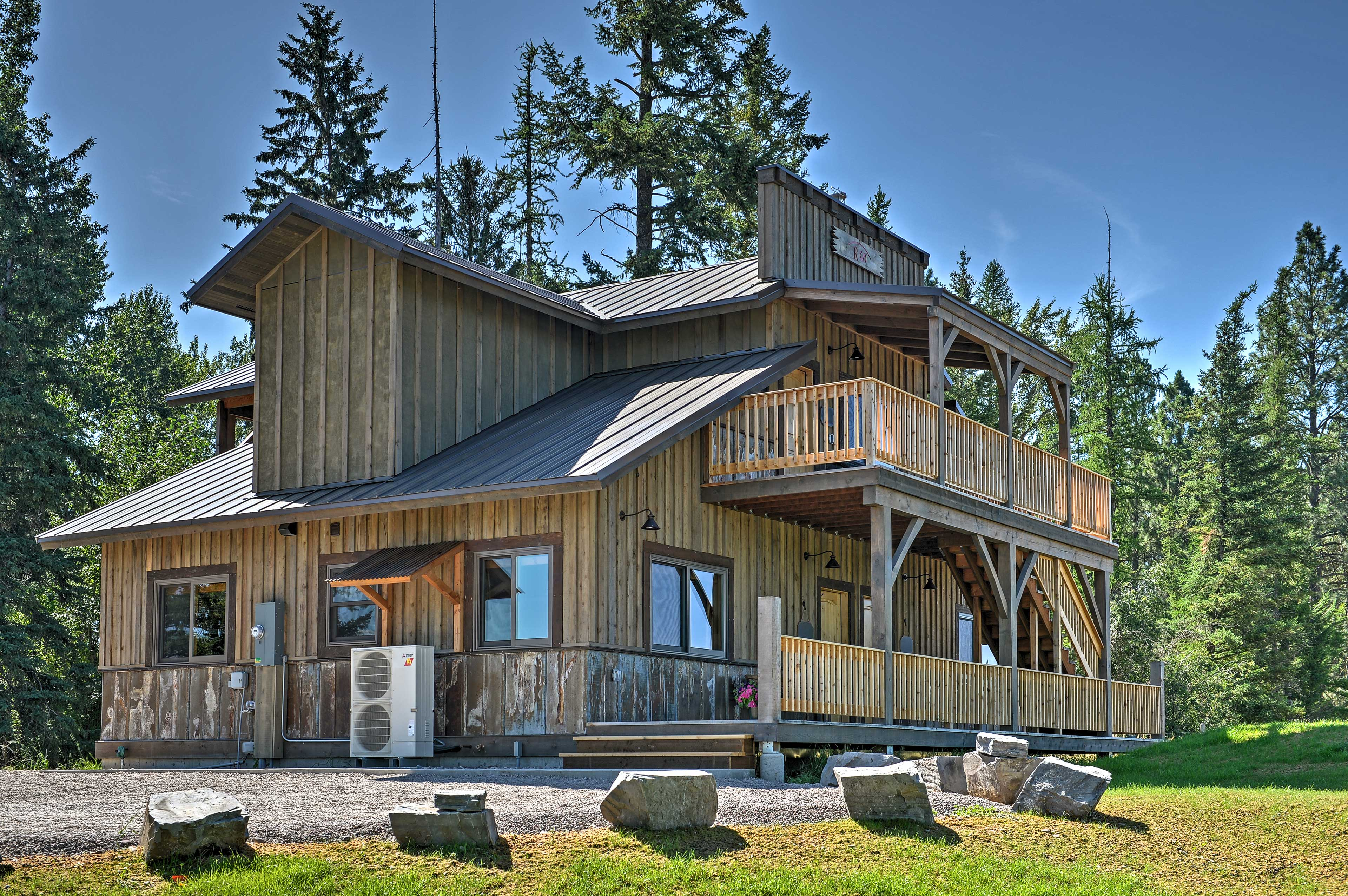 This home is ideally situated near national parks, trails and more!