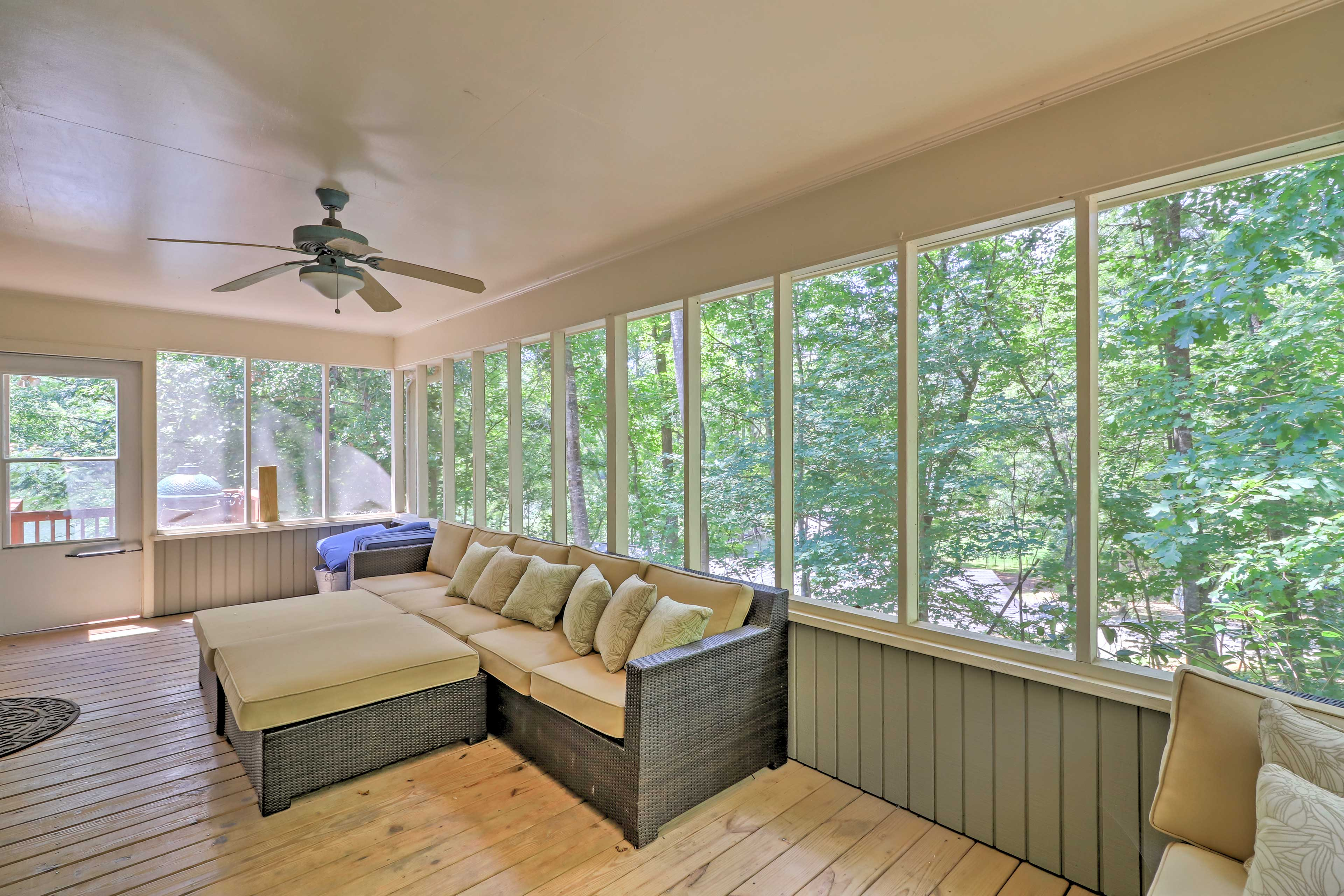 Four-Season Porch | Ample Seating
