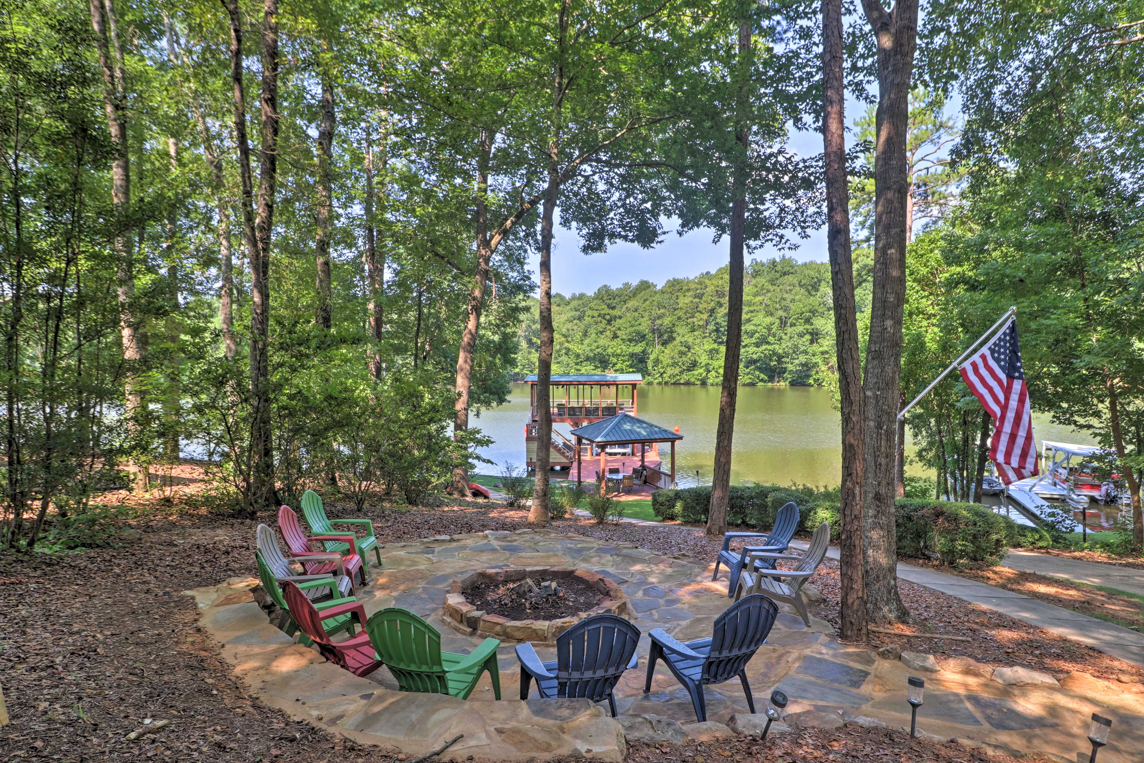 Jacksons' Gap Vacation Rental | 5BR | 3BA | Steps Required to Enter