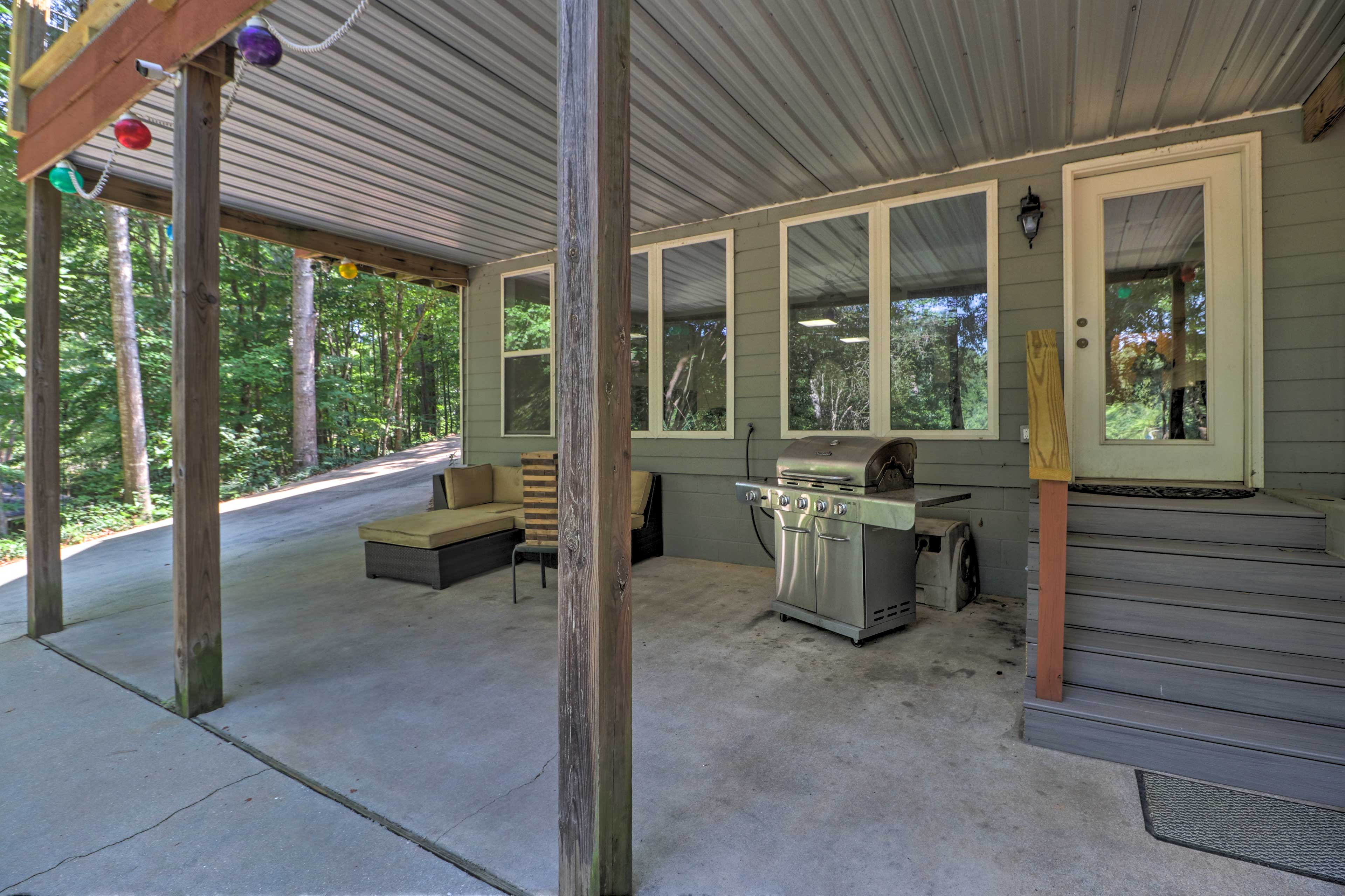 Covered Patio | Outdoor Couch