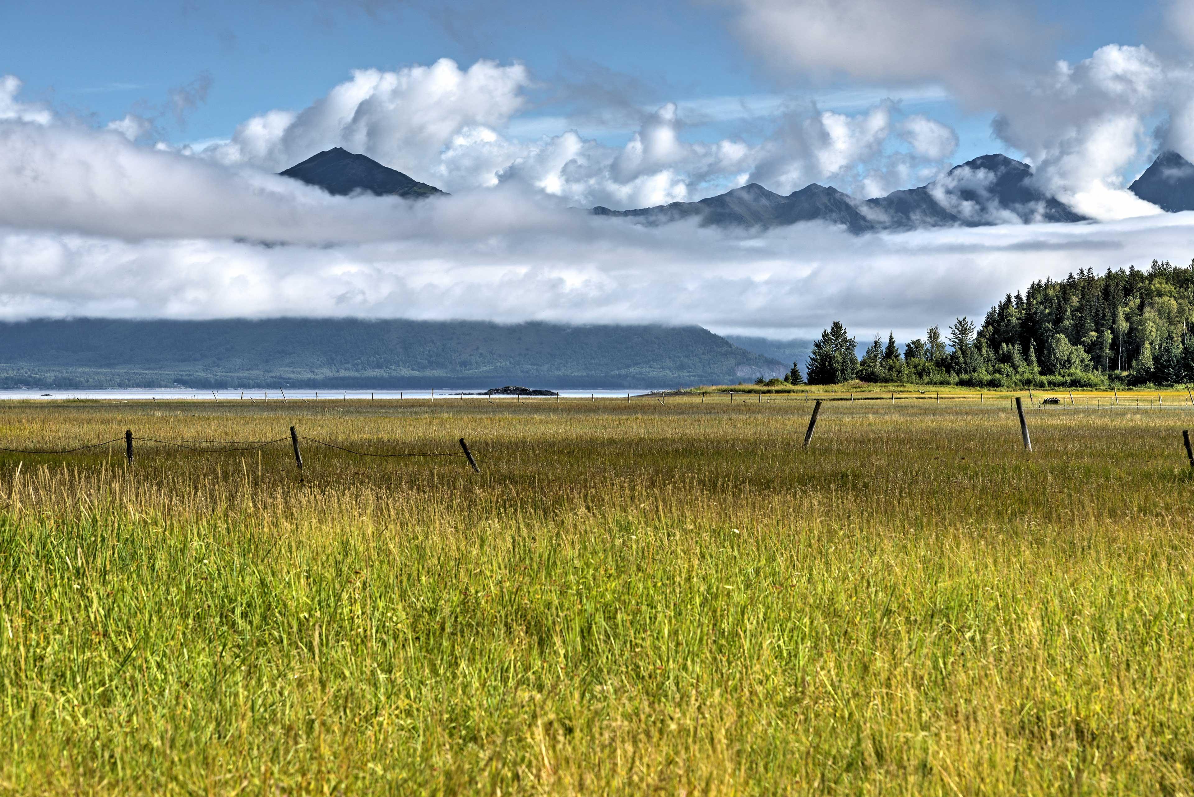 Enjoy these breathtaking views throughout Hope, Alaska.