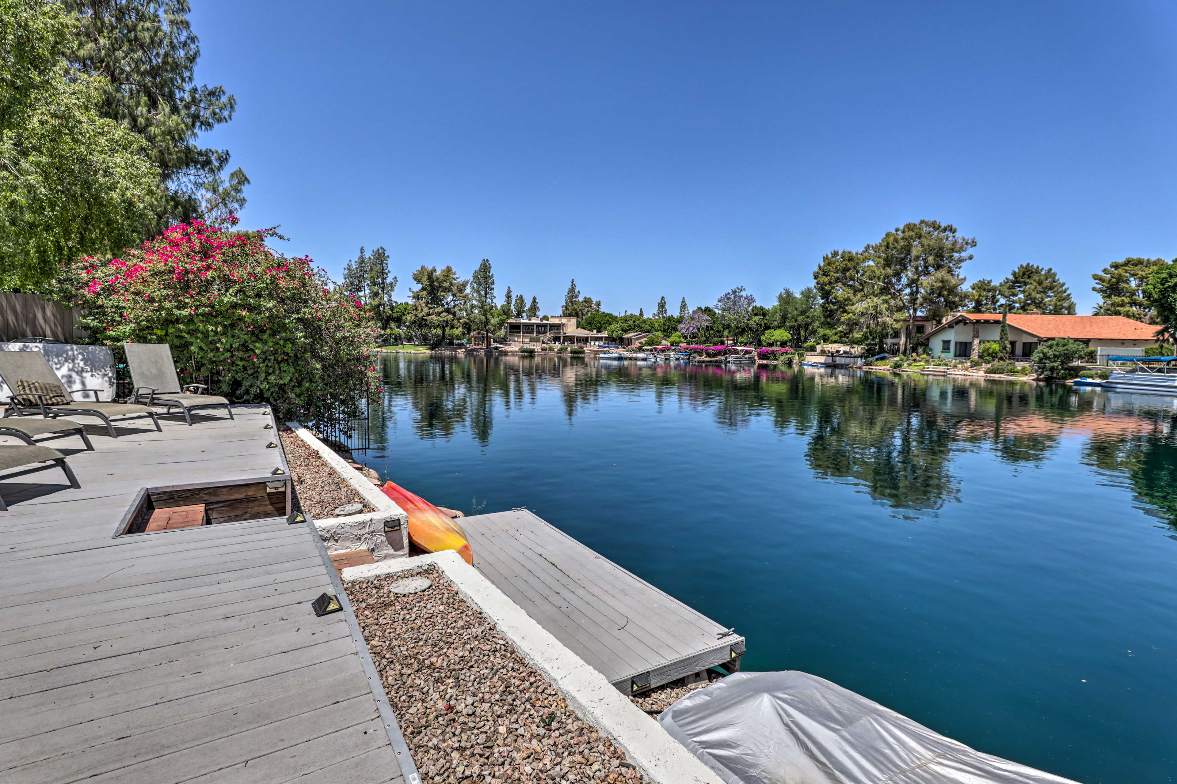 Backyard   Dock