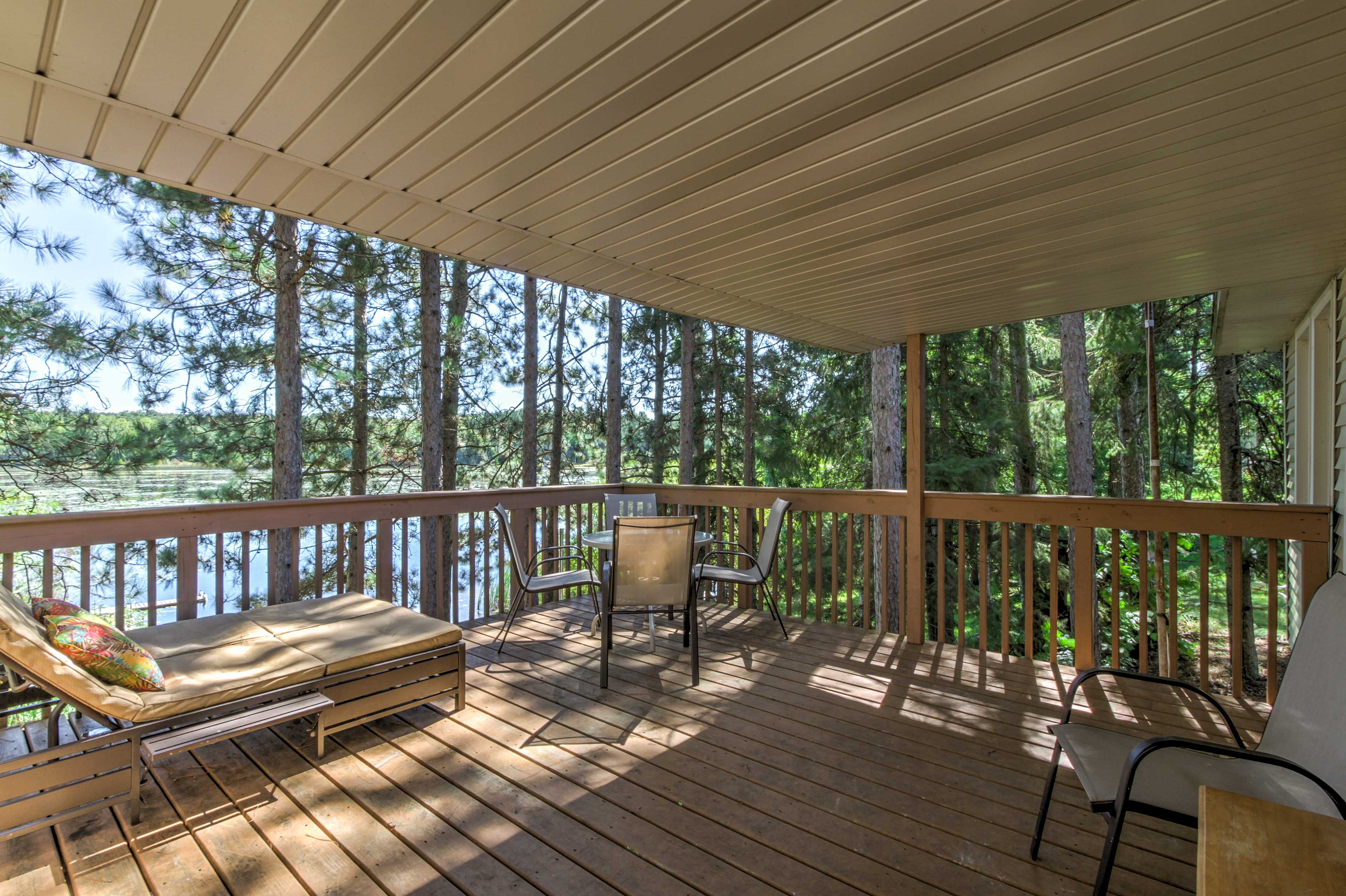 Enjoy a stay at this 2-bedroom, 1-bathroom vacation rental cabin in Westfield!