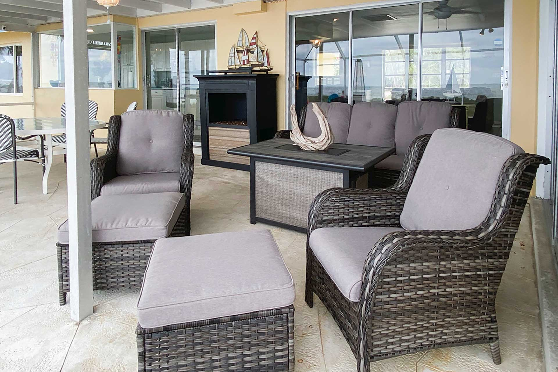 Covered Outdoor Seating