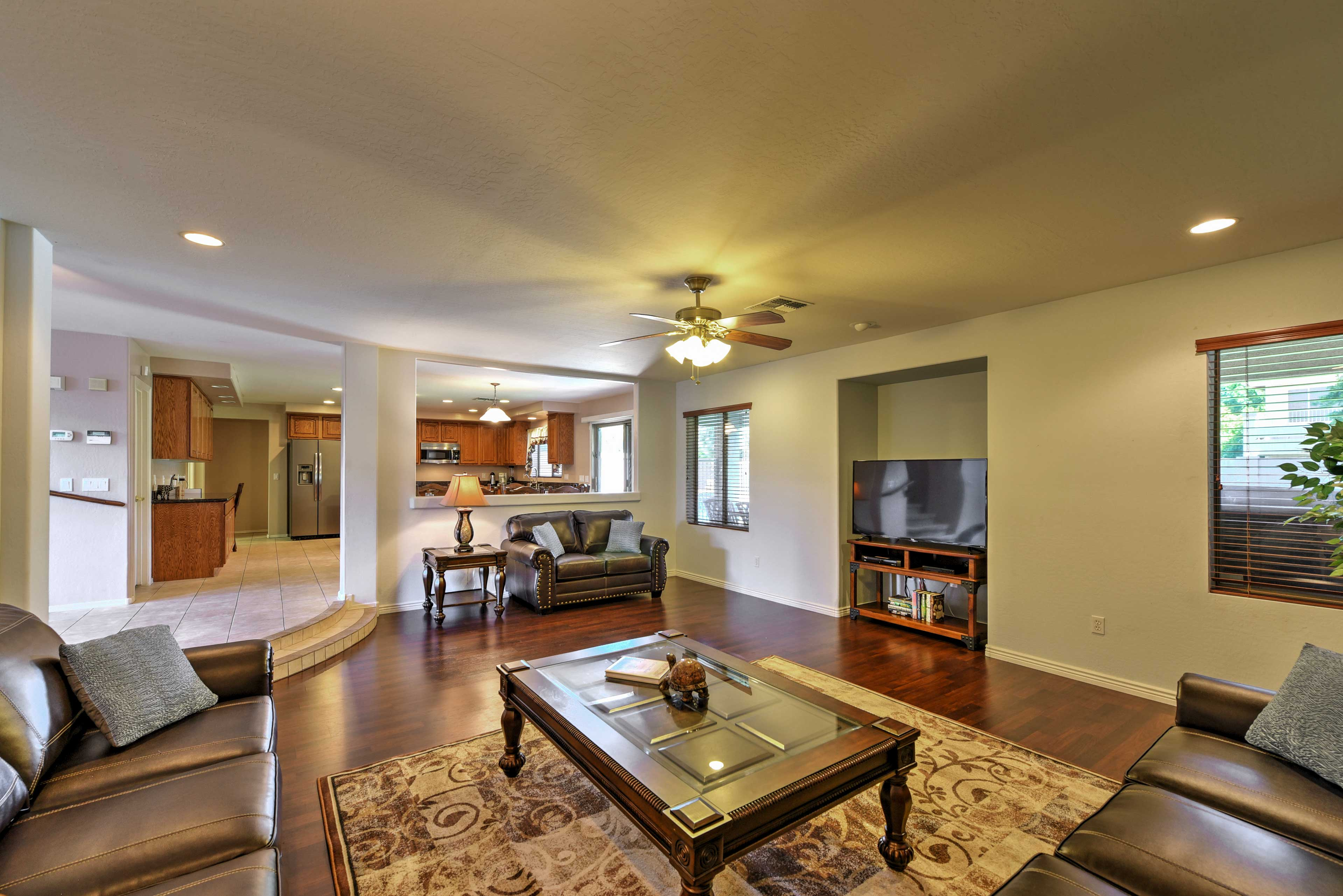 This Arizona home boasts 4,200 square feet of well-appointed living space.