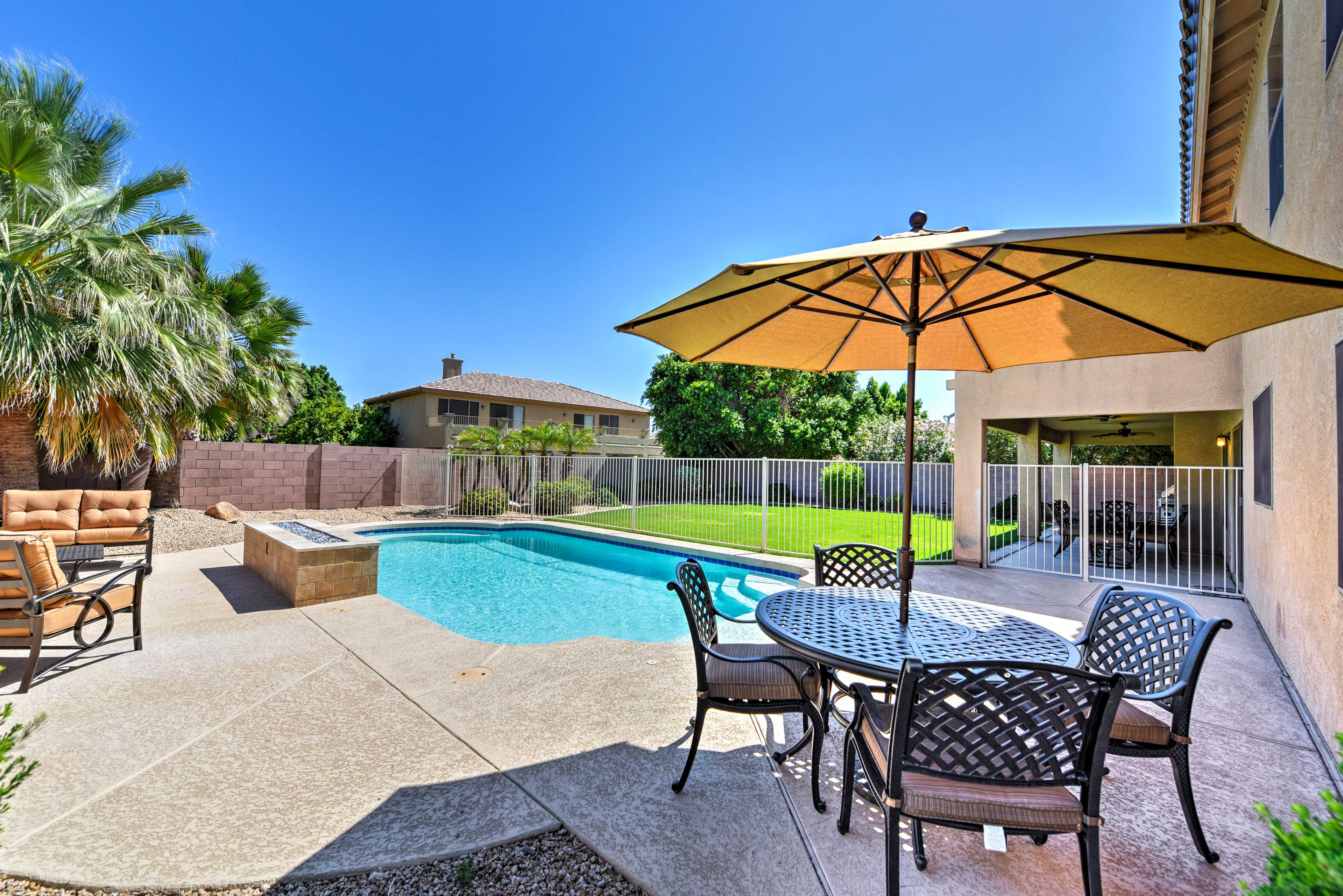 Sit back and soak up the sun by the pool.
