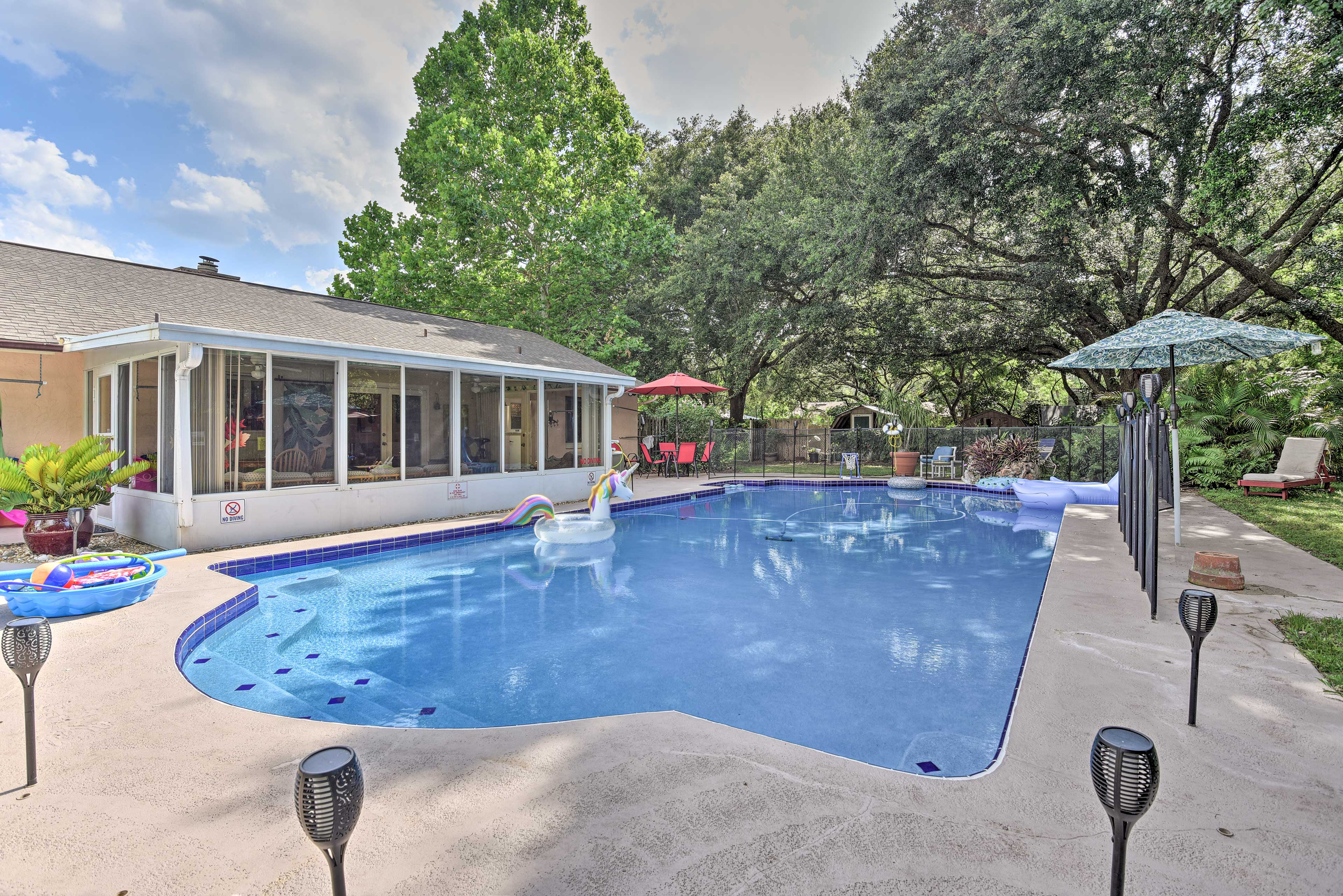 Property Exterior   Shared Fenced-in Pool