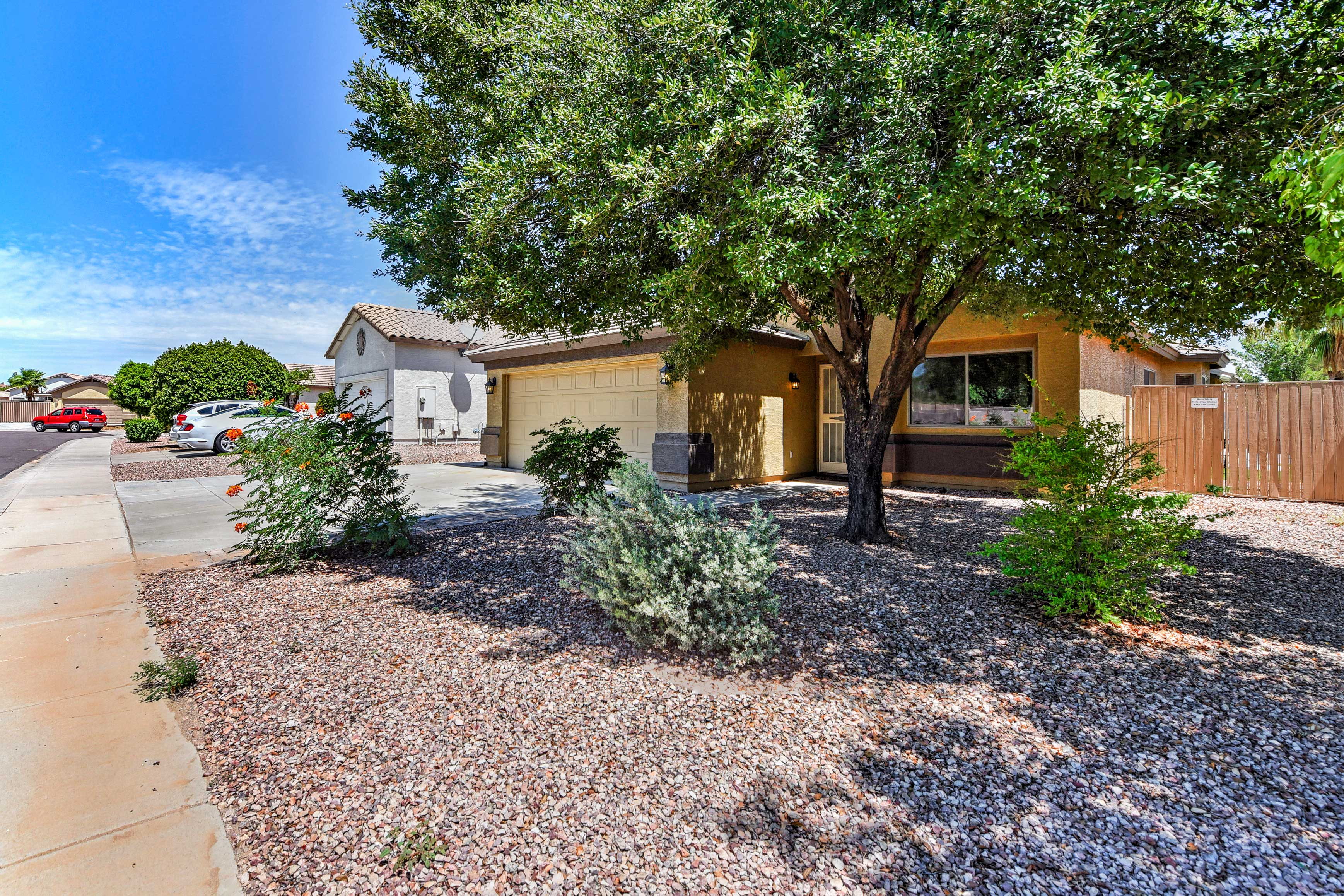 This Surprise home is perfect for your next sunny Arizona getaway!