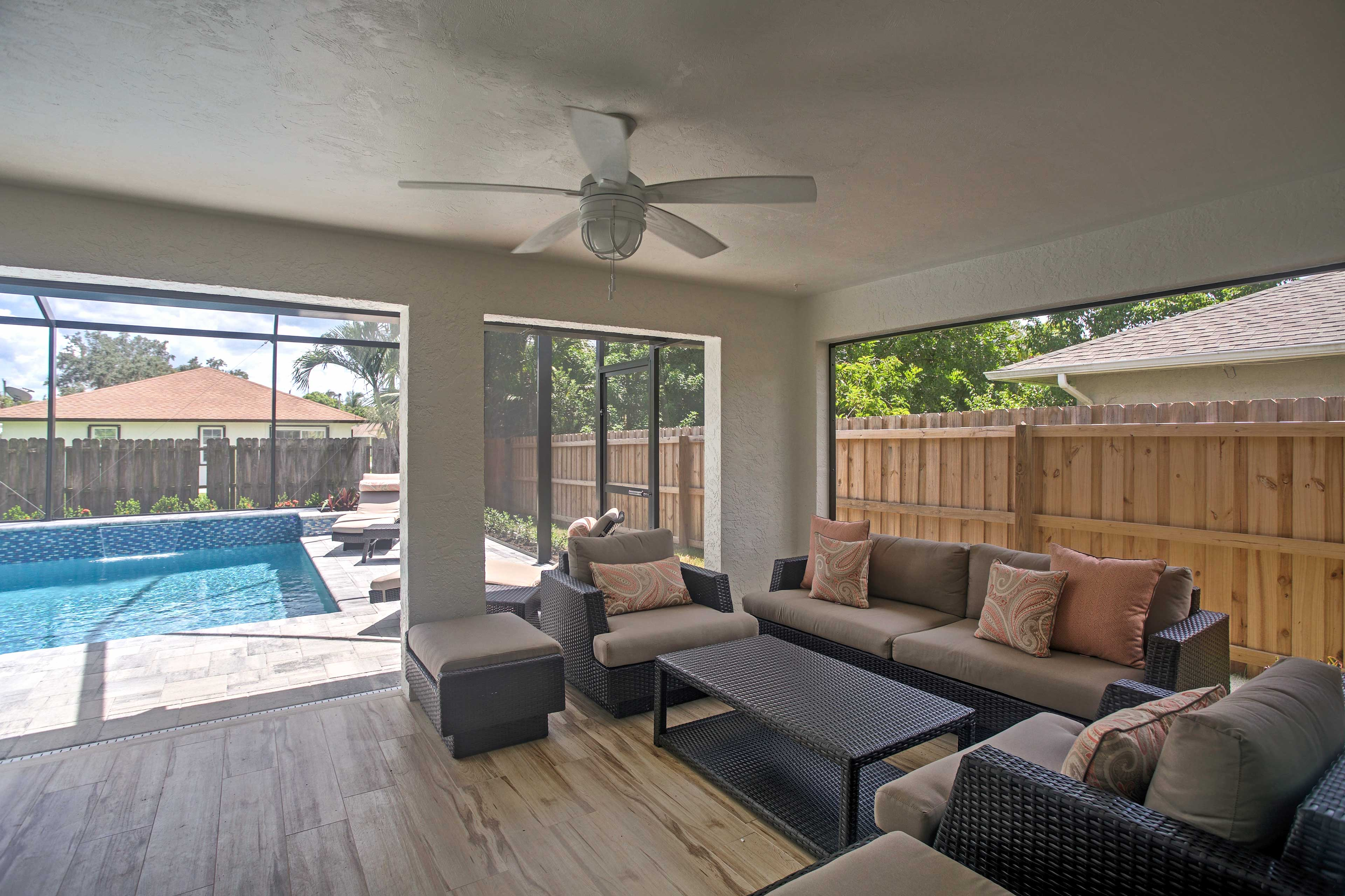 This home is perfect for groups of up to 6.