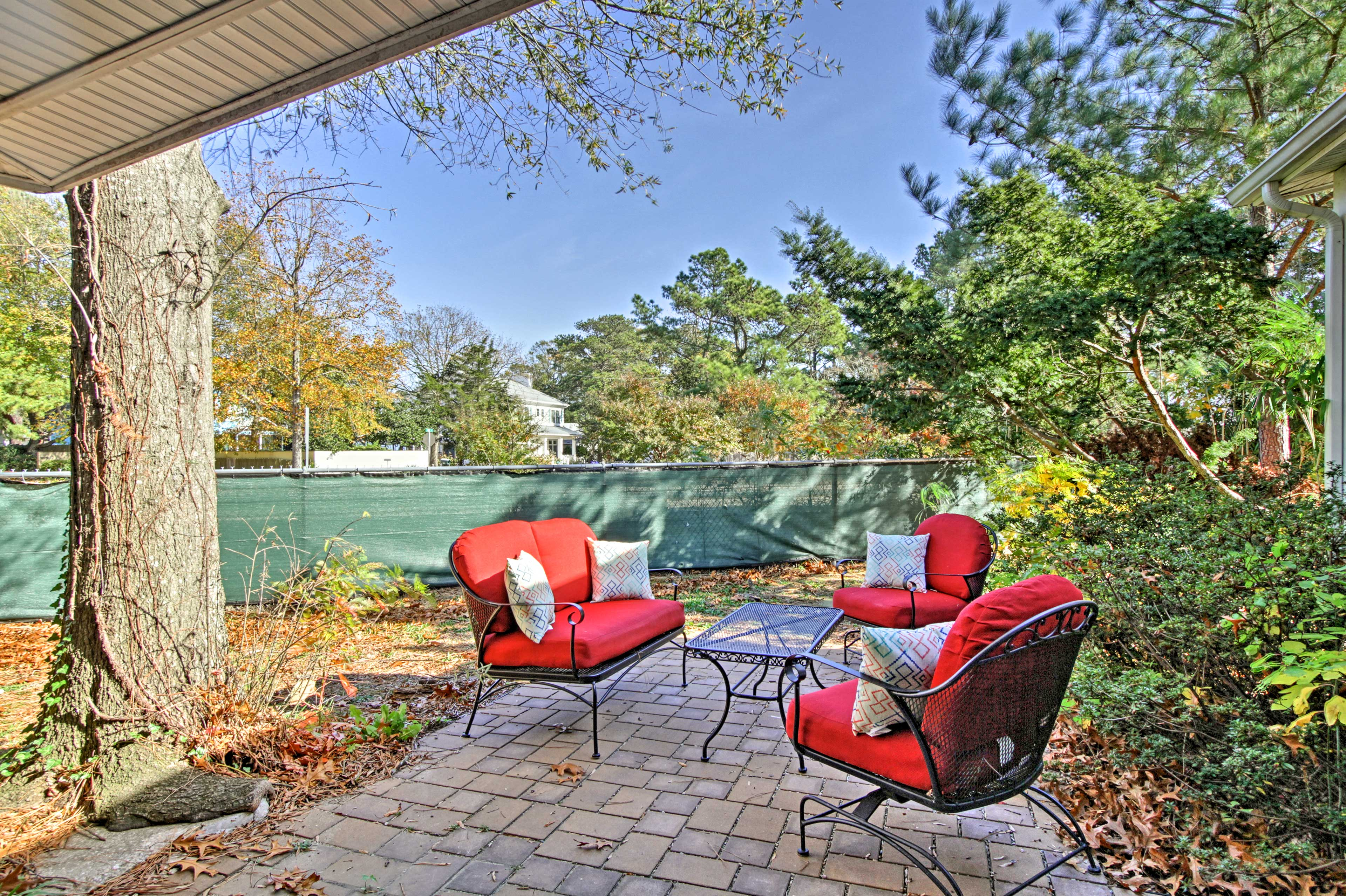 This property sits just 2 blocks from the beach and offers a private backyard.