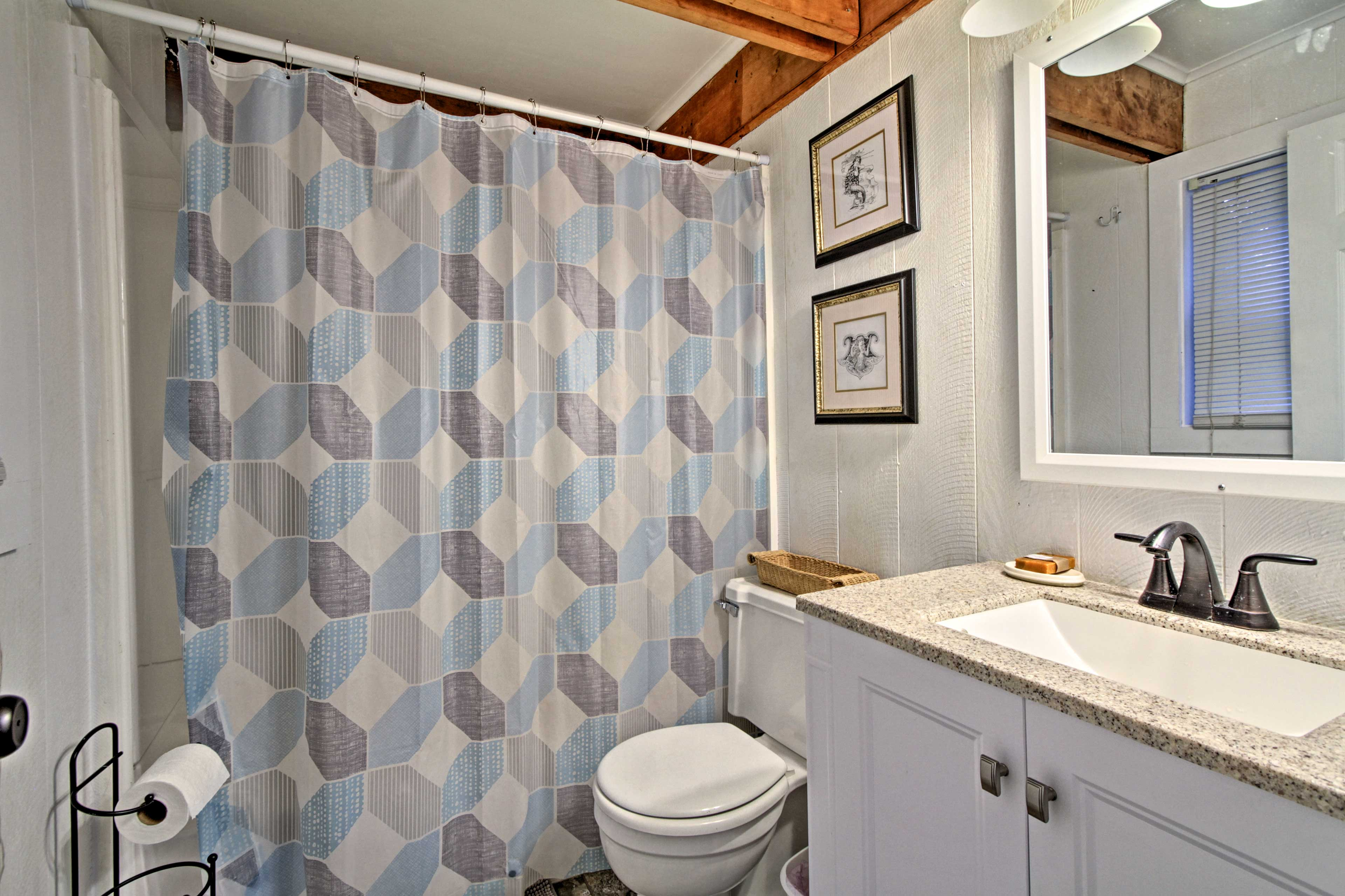 This home boasts 4 full bathrooms, giving everyone plenty of privacy.