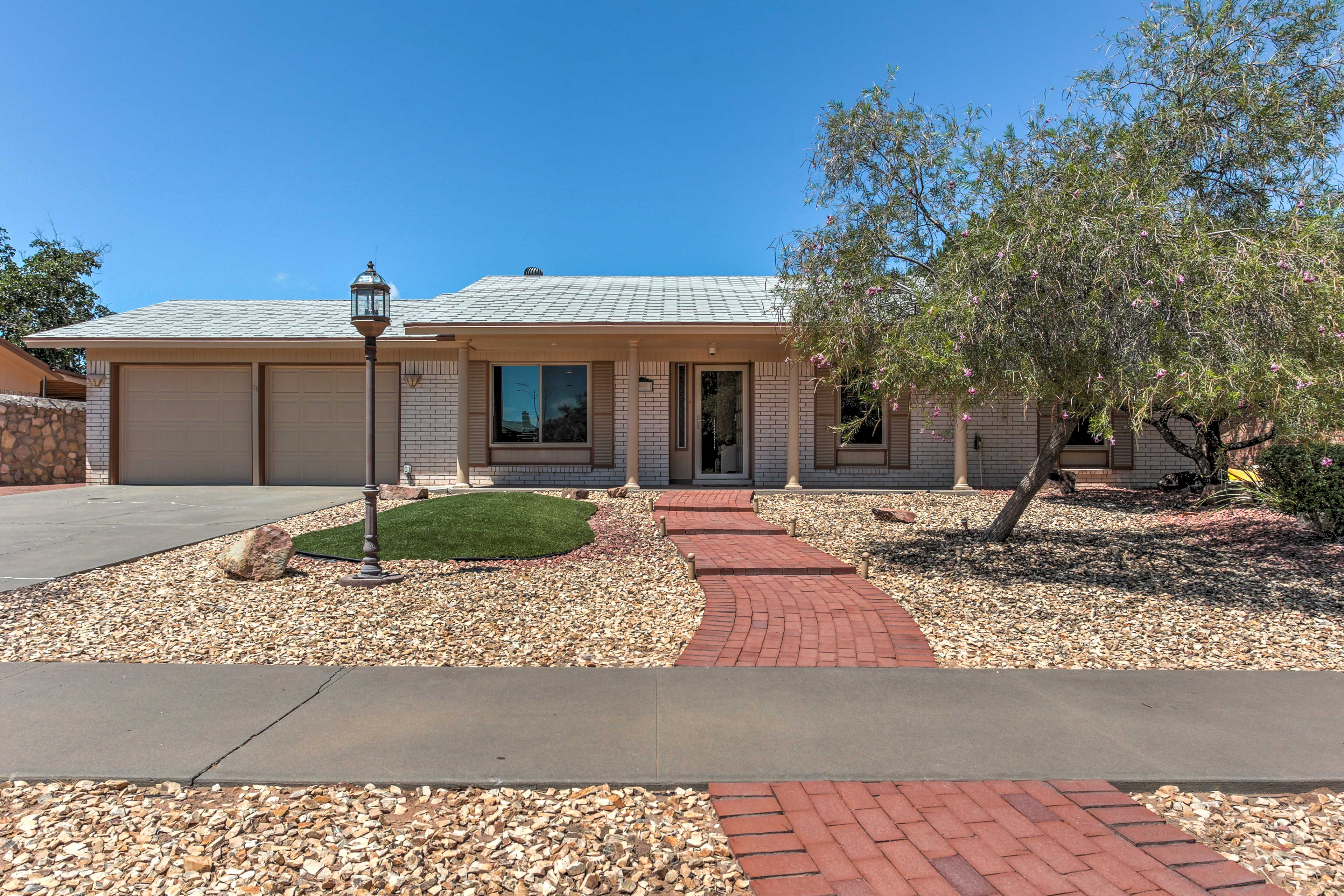 Experience the best of El Paso when you stay at this 3-bed vacation rental house