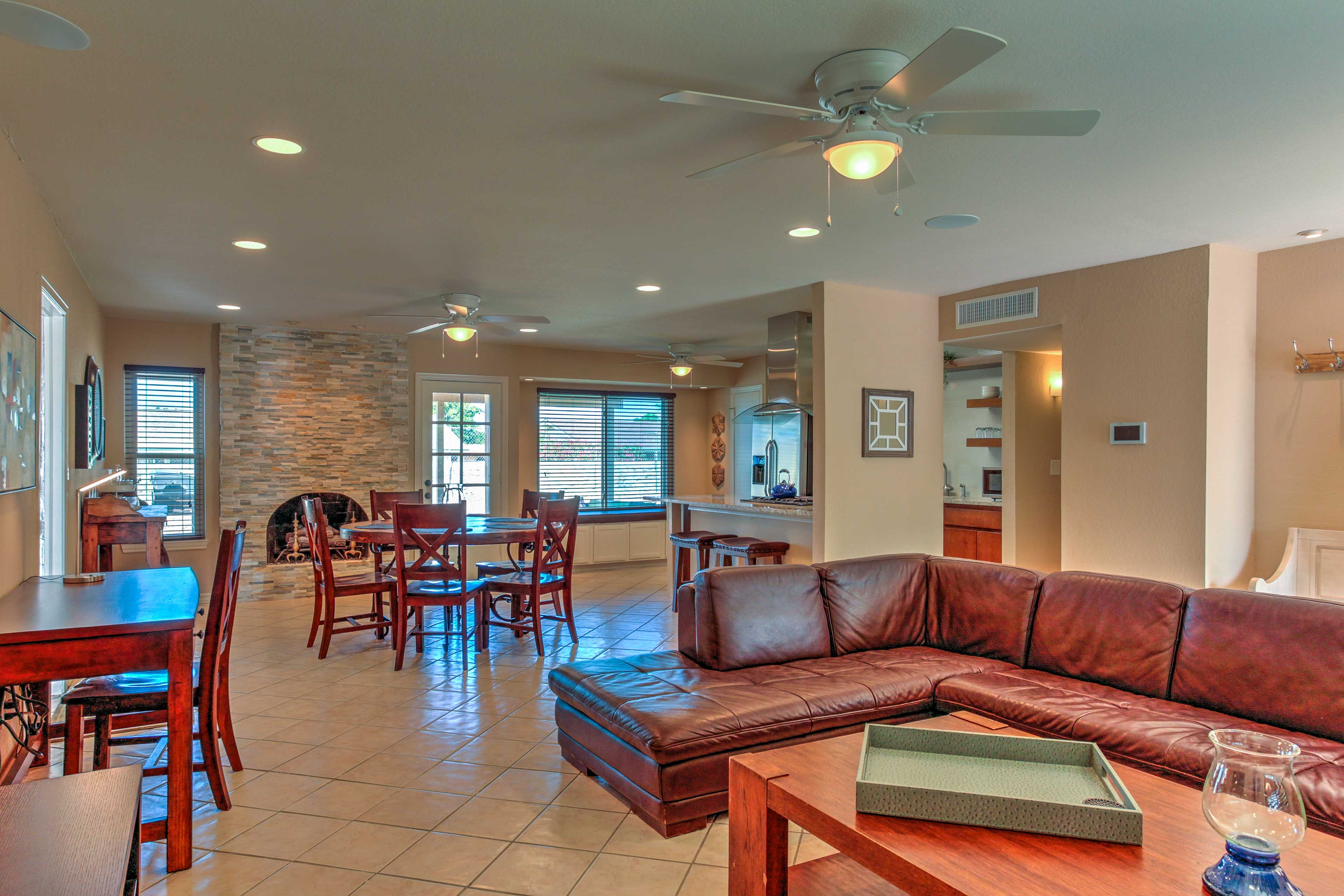The interior includes a brand new kitchen and tasteful updates throughout.