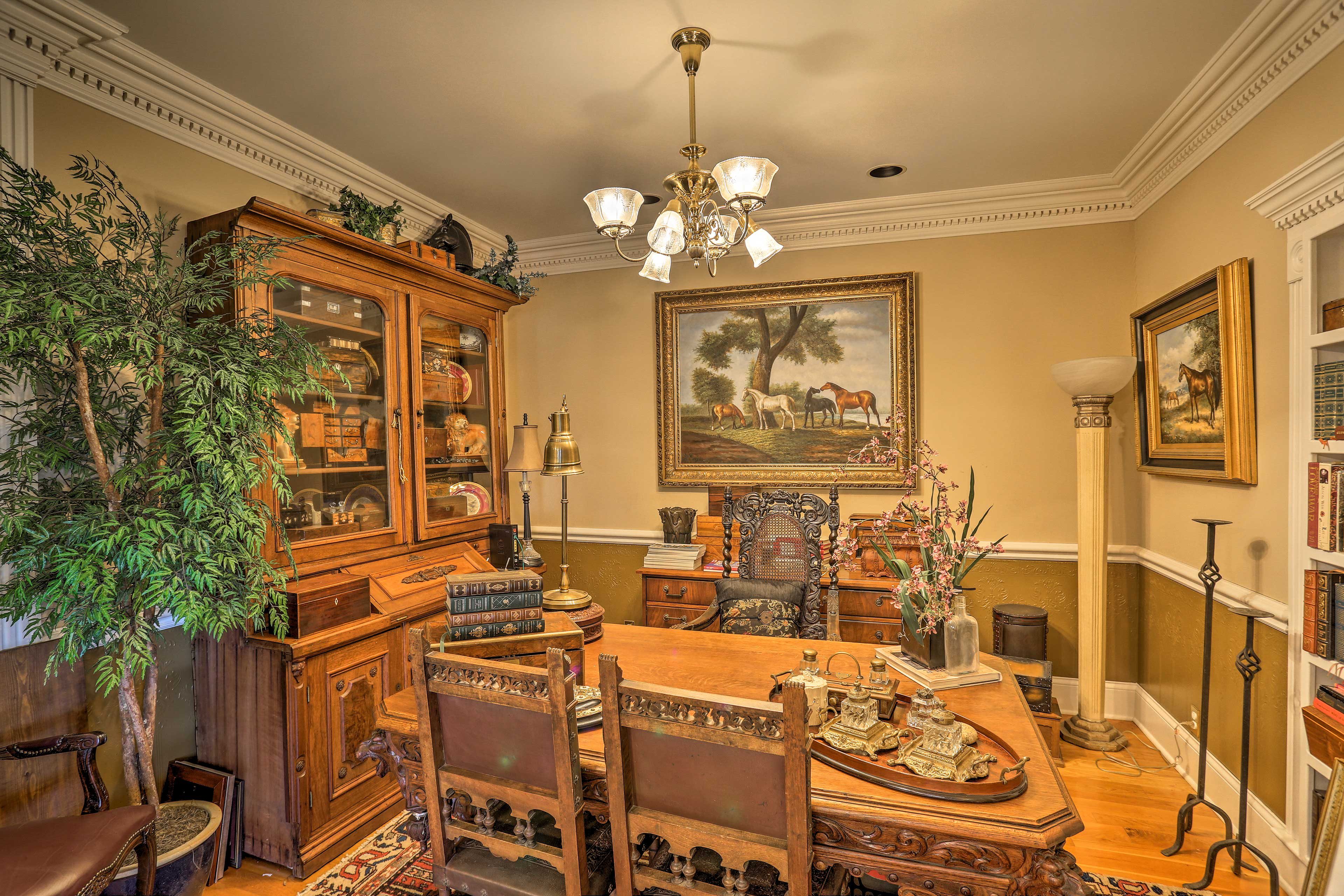 The home has tons of dining areas for you to enjoy your meals.