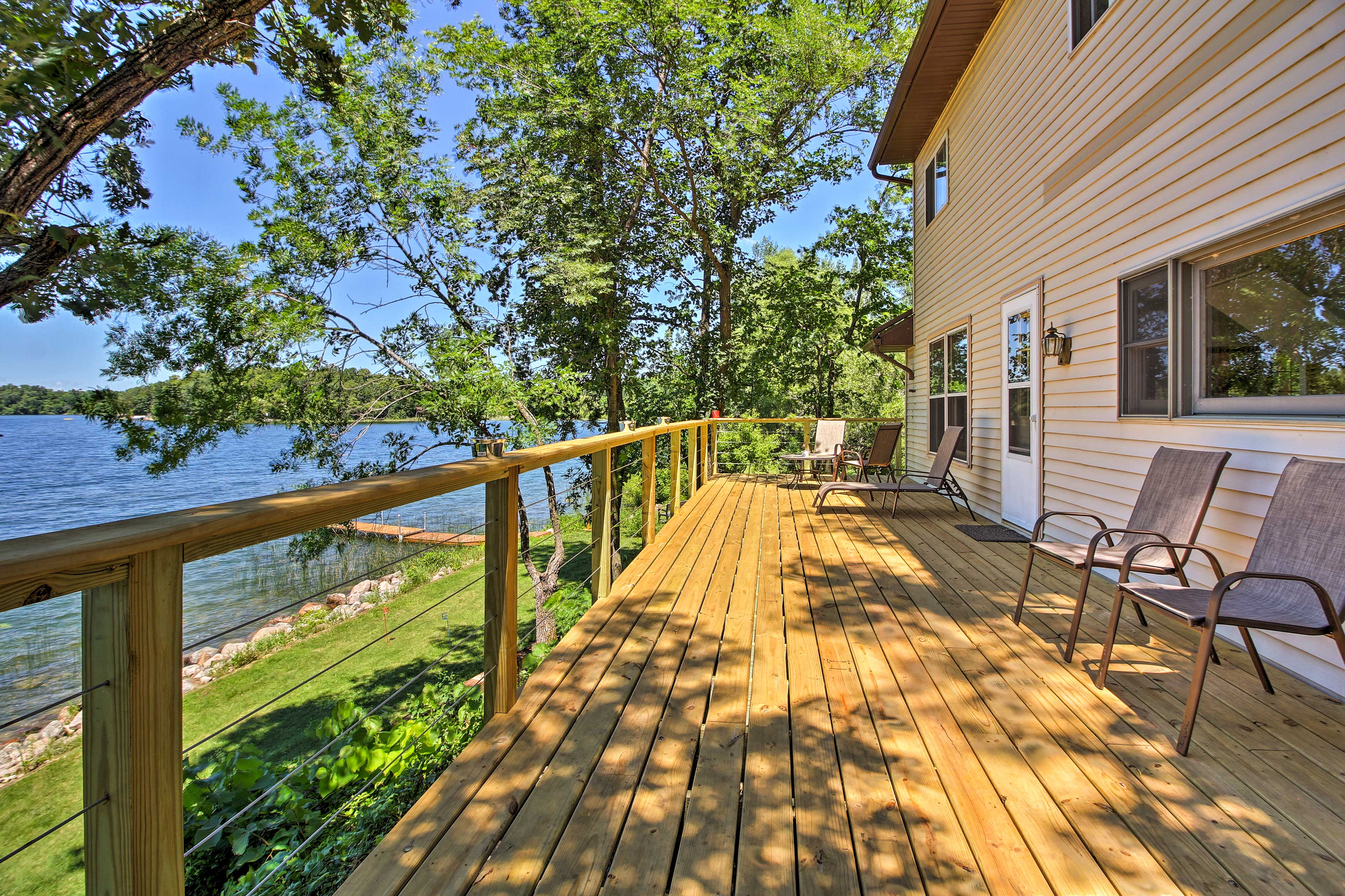 Get away to the lake at this 3-bedroom, 1-bathroom Brandon vacation rental home.