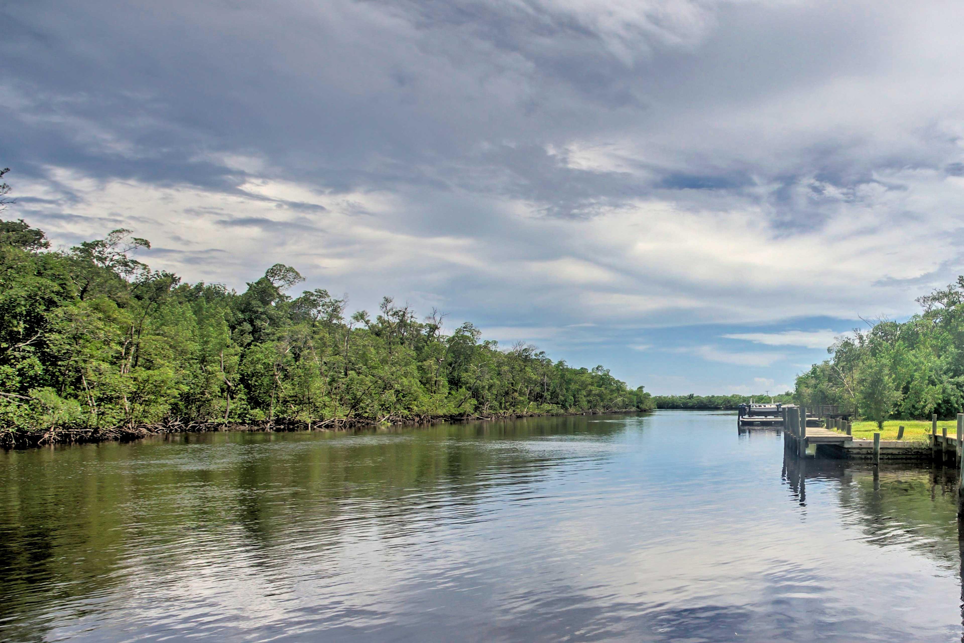 The Everglades are your playground at this property!
