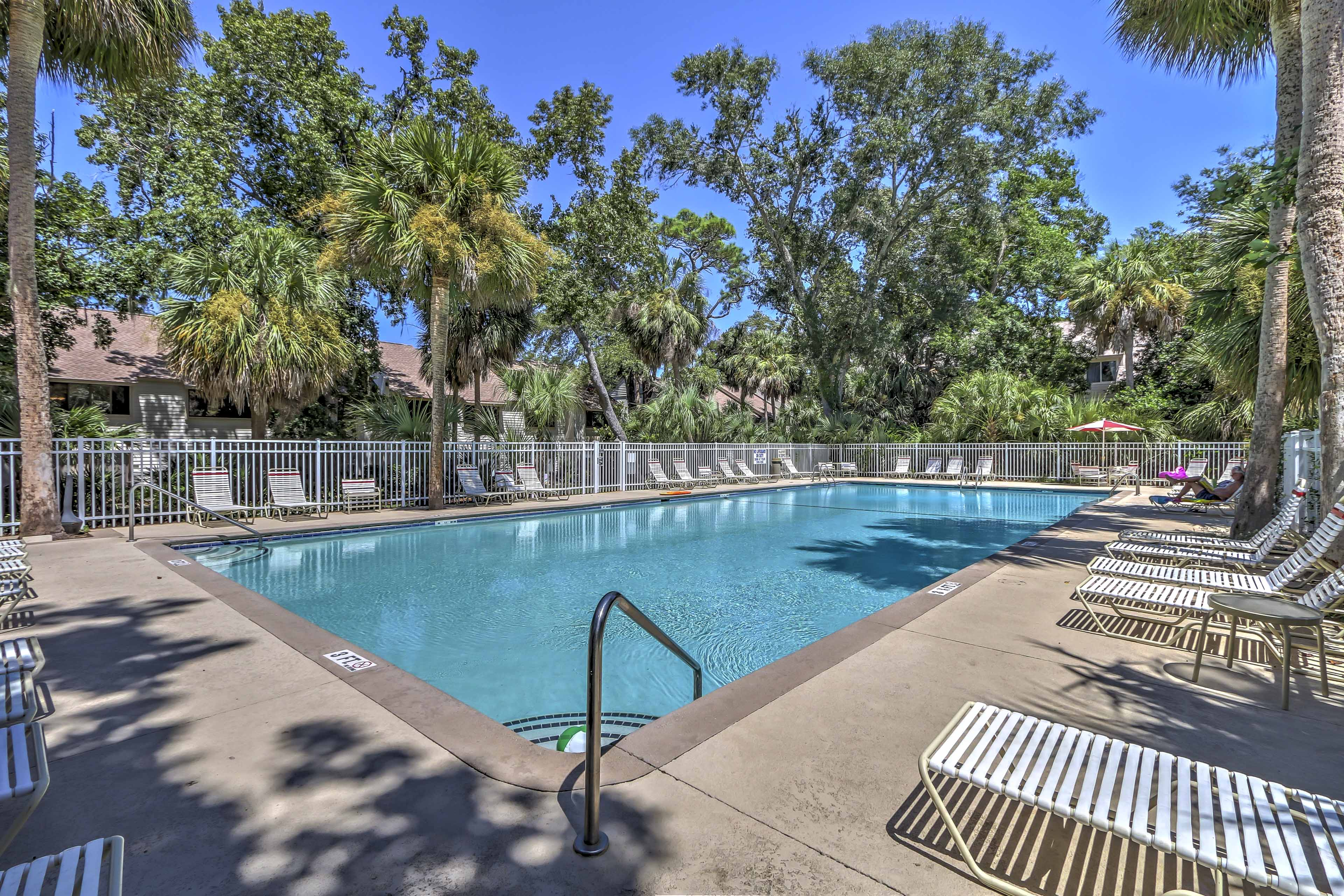 Enjoy endless fun in the sun at the community pool.